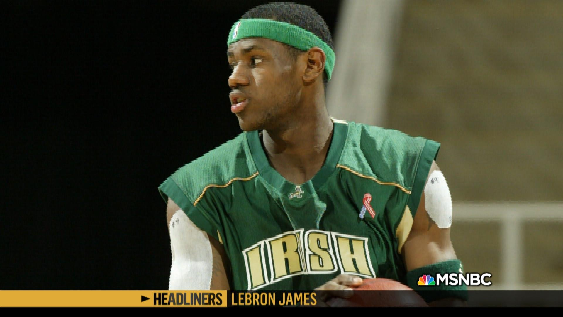 'Headliners: LeBron James' A High School Phenom