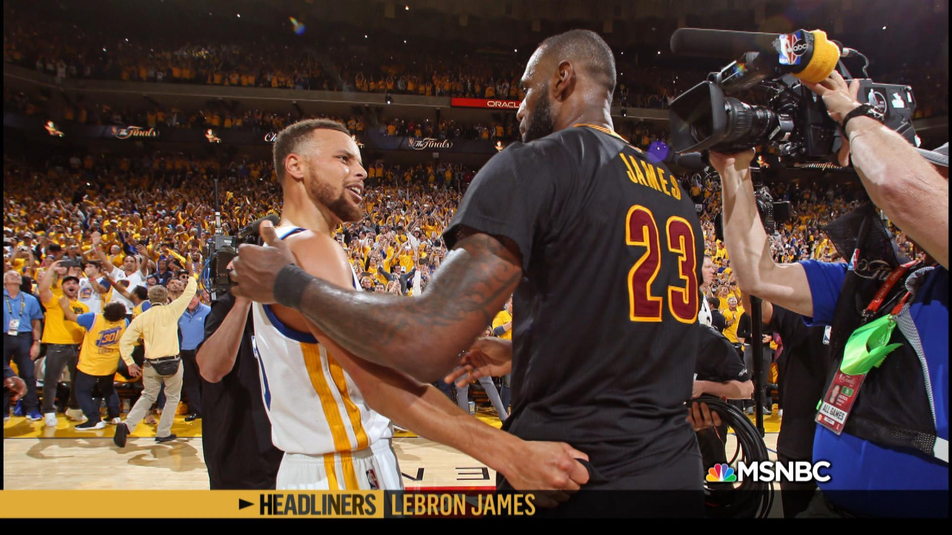 'Headliners: LeBron James' The King vs. the President