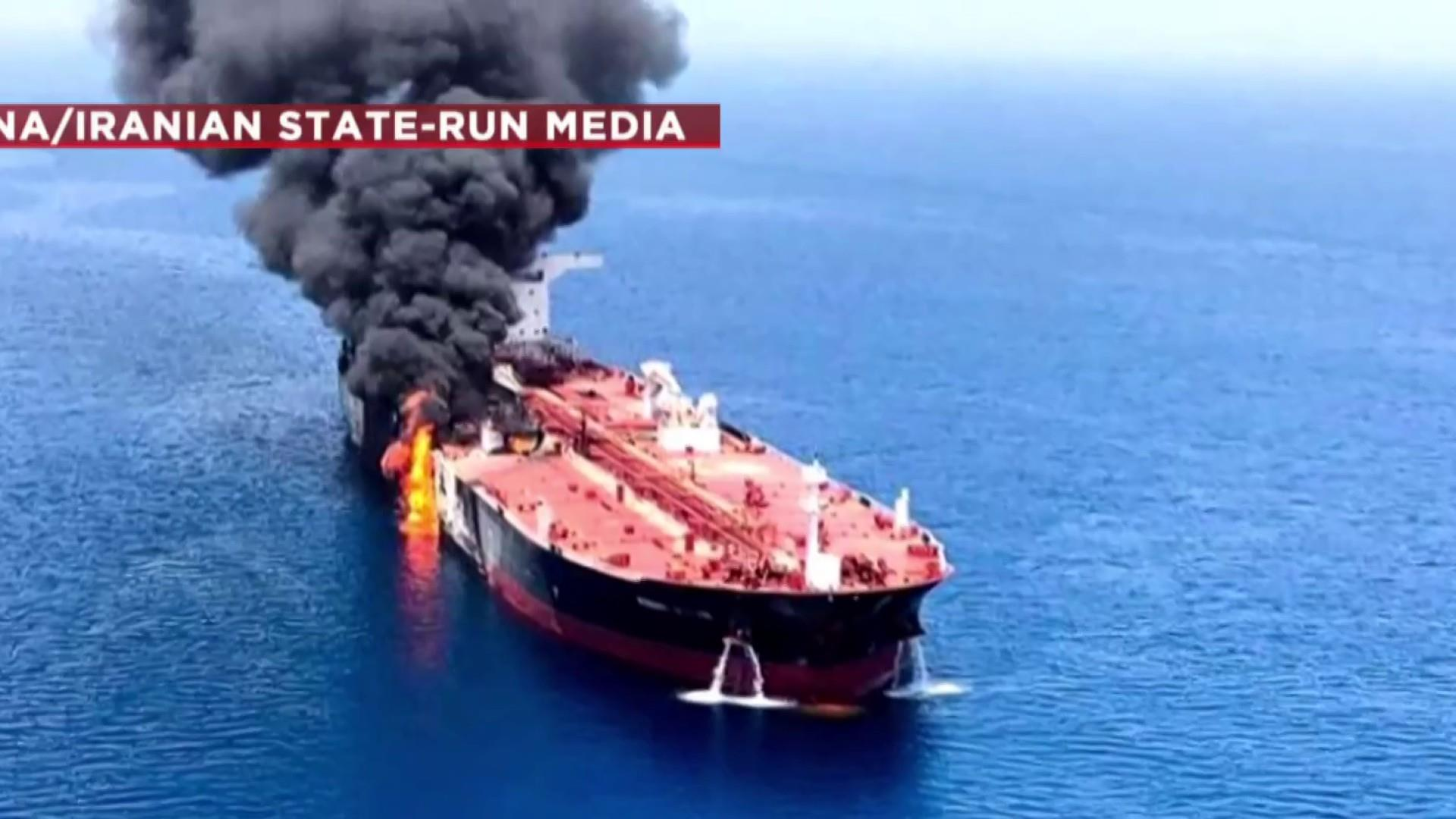 Dozens rescued after 'reported attack' on tankers off Iran coast