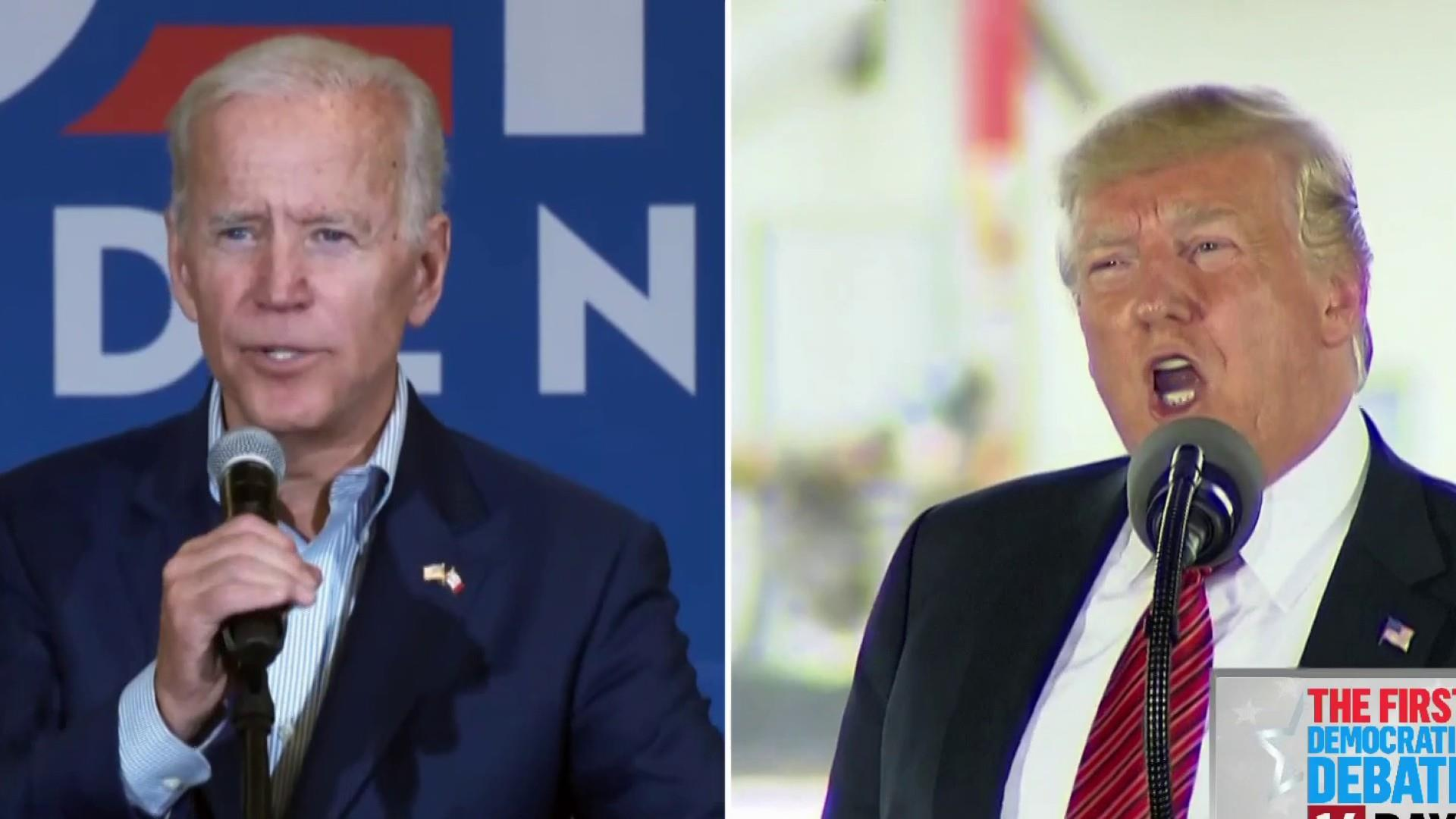 2020 Dems fight for attention during Trump-Biden faceoff