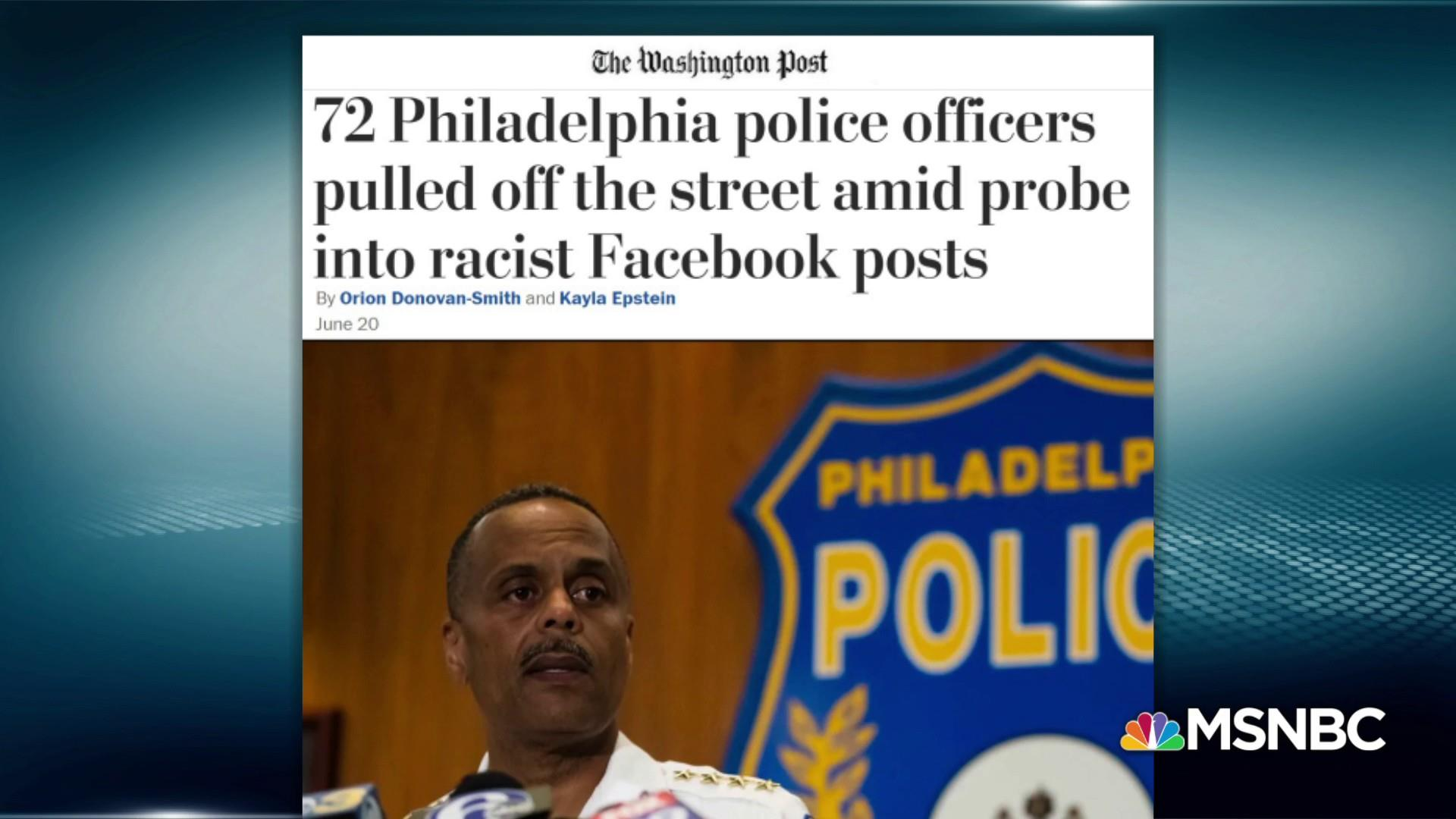Watchdogs uncover officers' racist Facebook posts