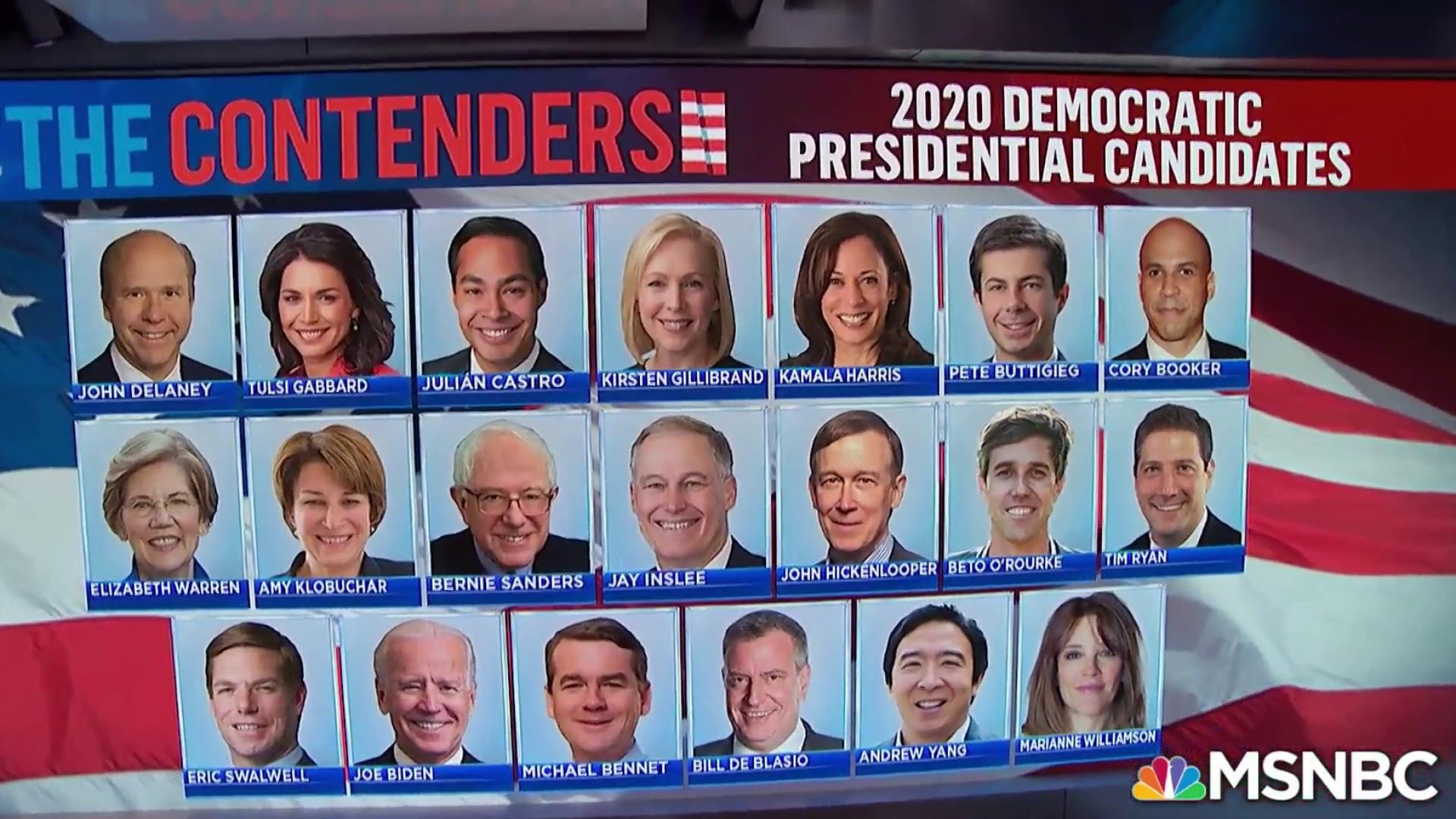 Big Question: What's the best strategy for 2020 Democrats looking to stand out on the stage?
