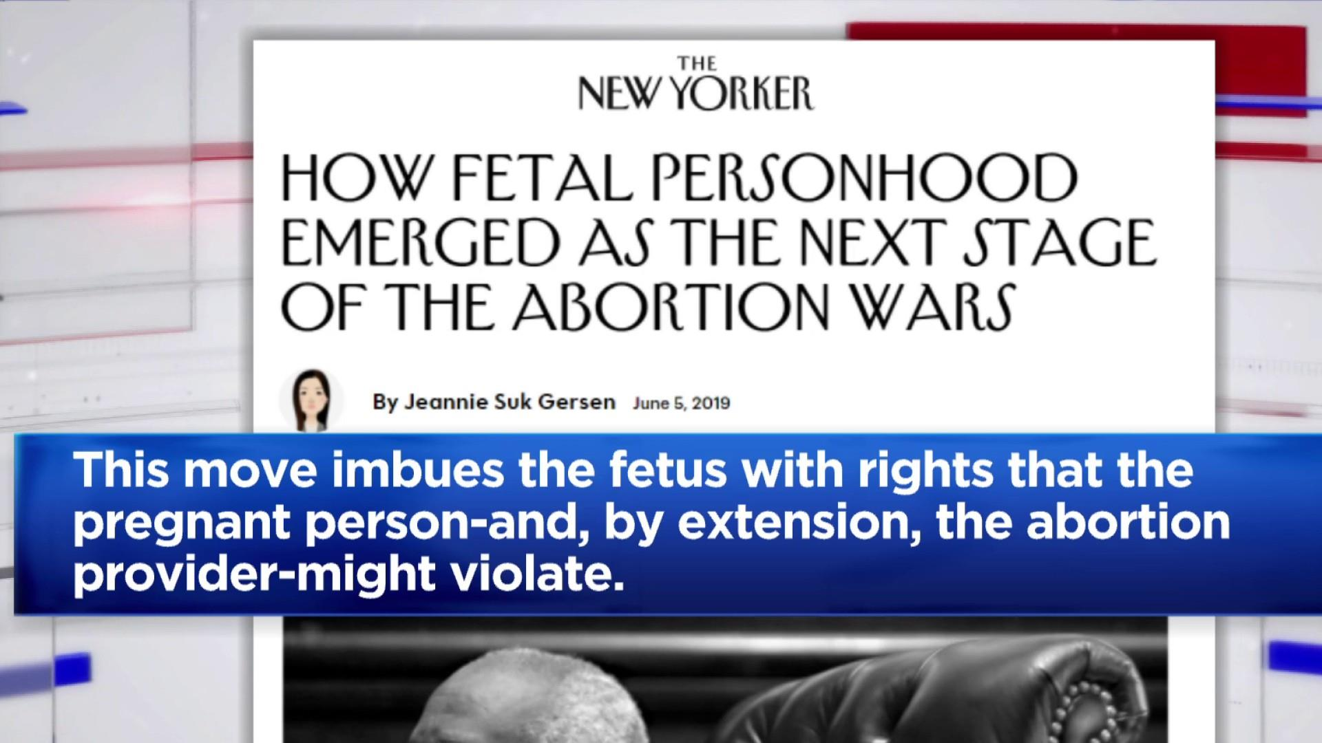 Why fetal personhood is at the center of the abortion debate