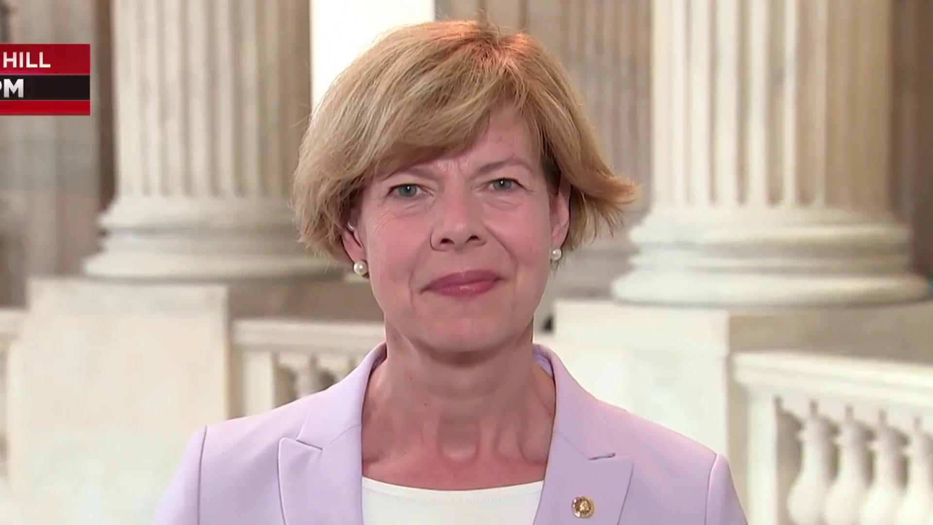 Sen. Baldwin: Trump doesn't understand these families' lives