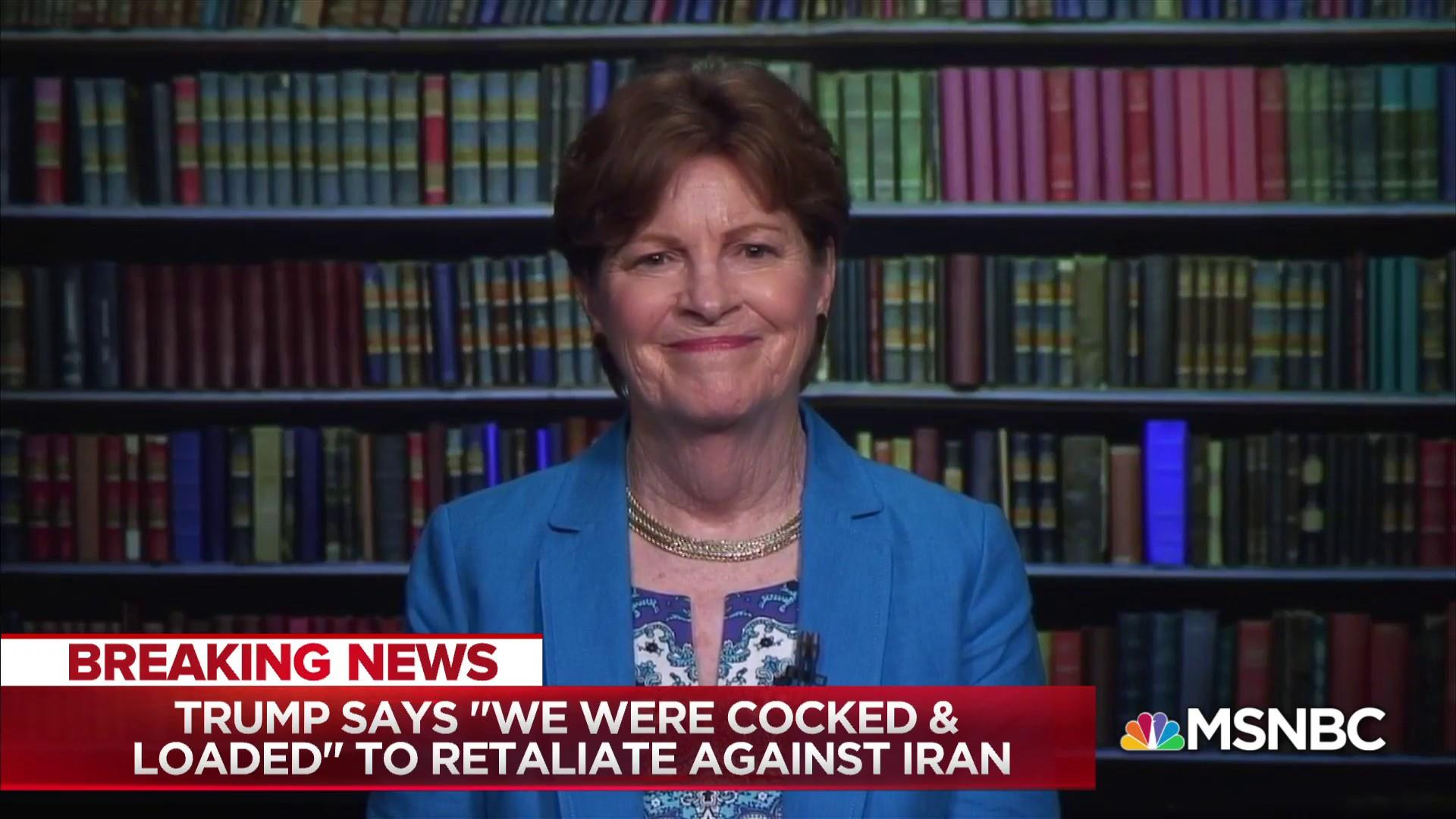 Sen. Shaheen: Iran nuclear deal progress 'seems to be reversing'