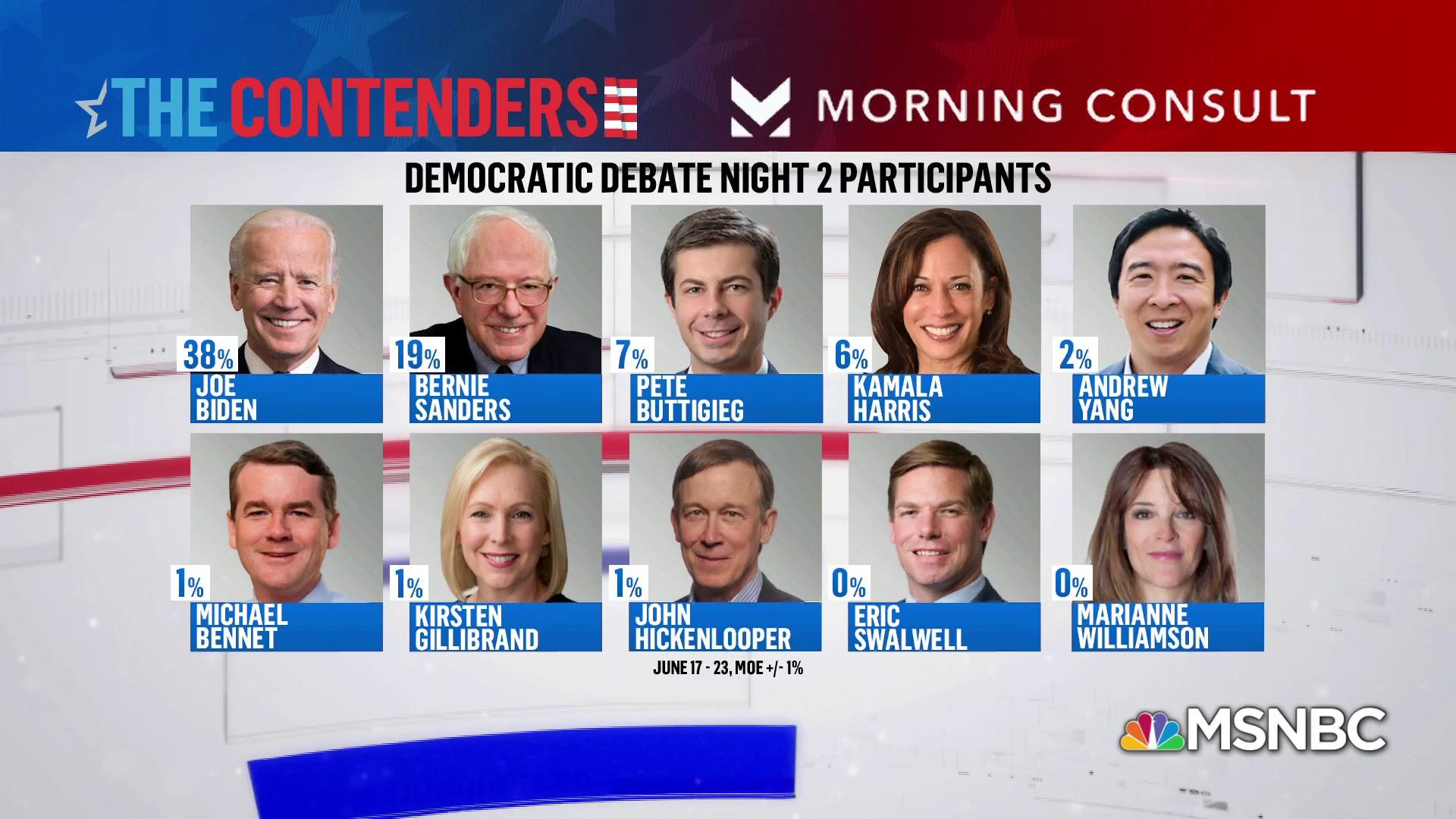Who stood out and missed out at night one of the debate