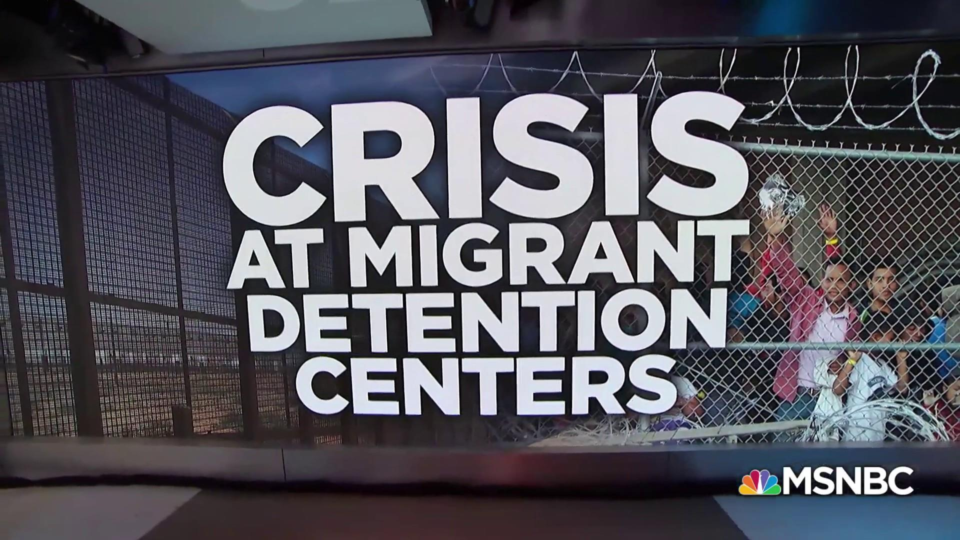 Living conditions at a migrant detention center are 'appalling'