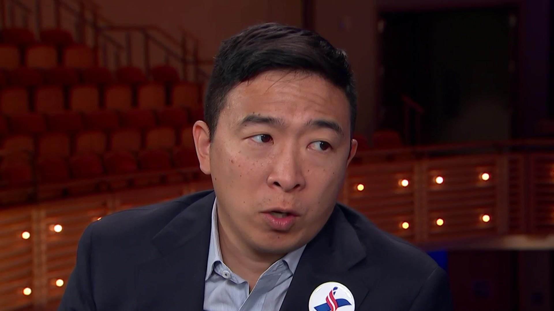 Andrew Yang: The wall is more of a symbol than a solution