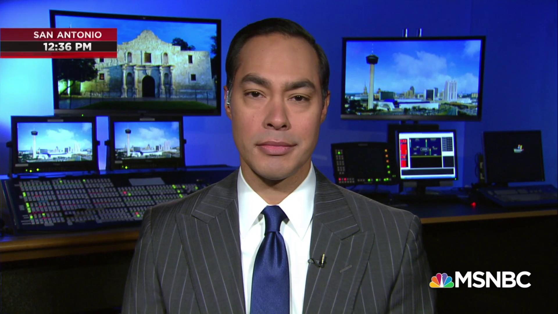 Julián Castro: Education and health care are not mutually exclusive