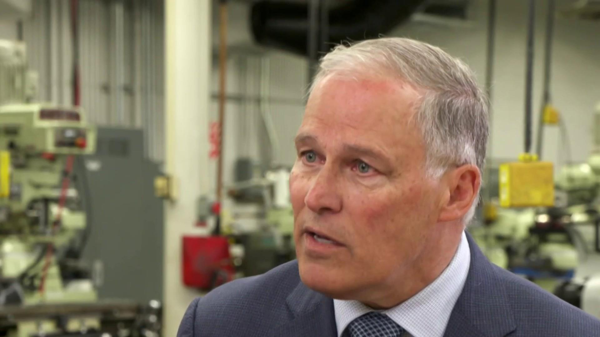 Big Idea: Gov. Jay Inslee's plan to tackle climate change