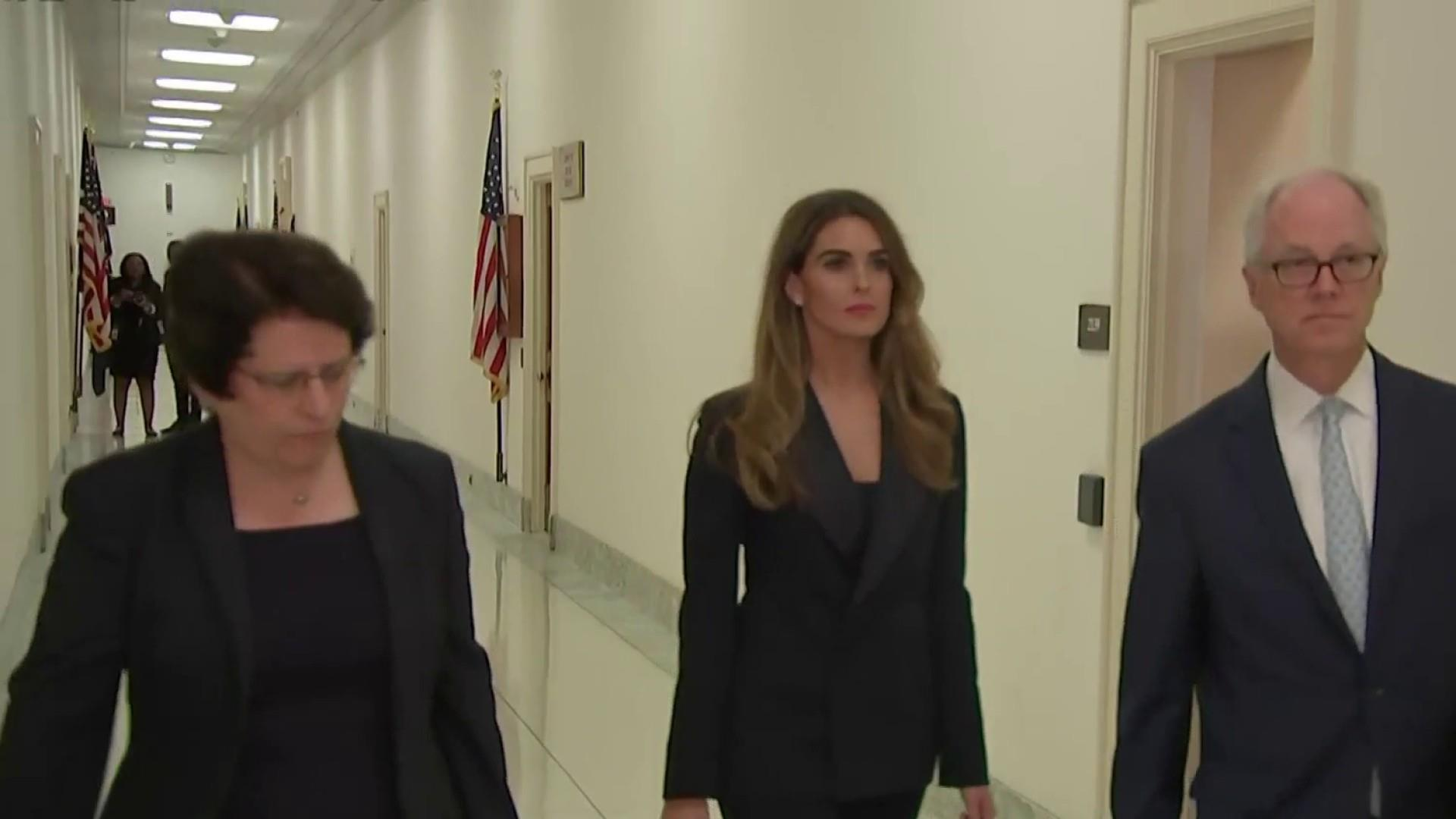 Did Hope Hicks just give the Democrats a legal breakthrough?