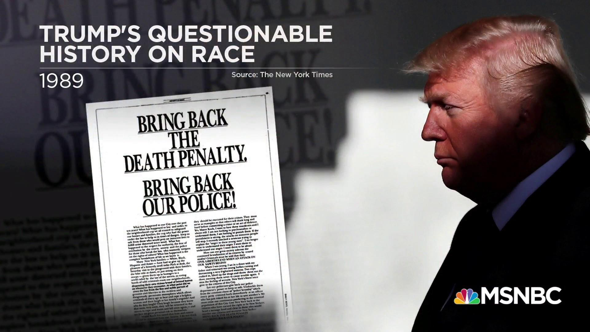 Trump refuses to apologize over Central Park 5 comments