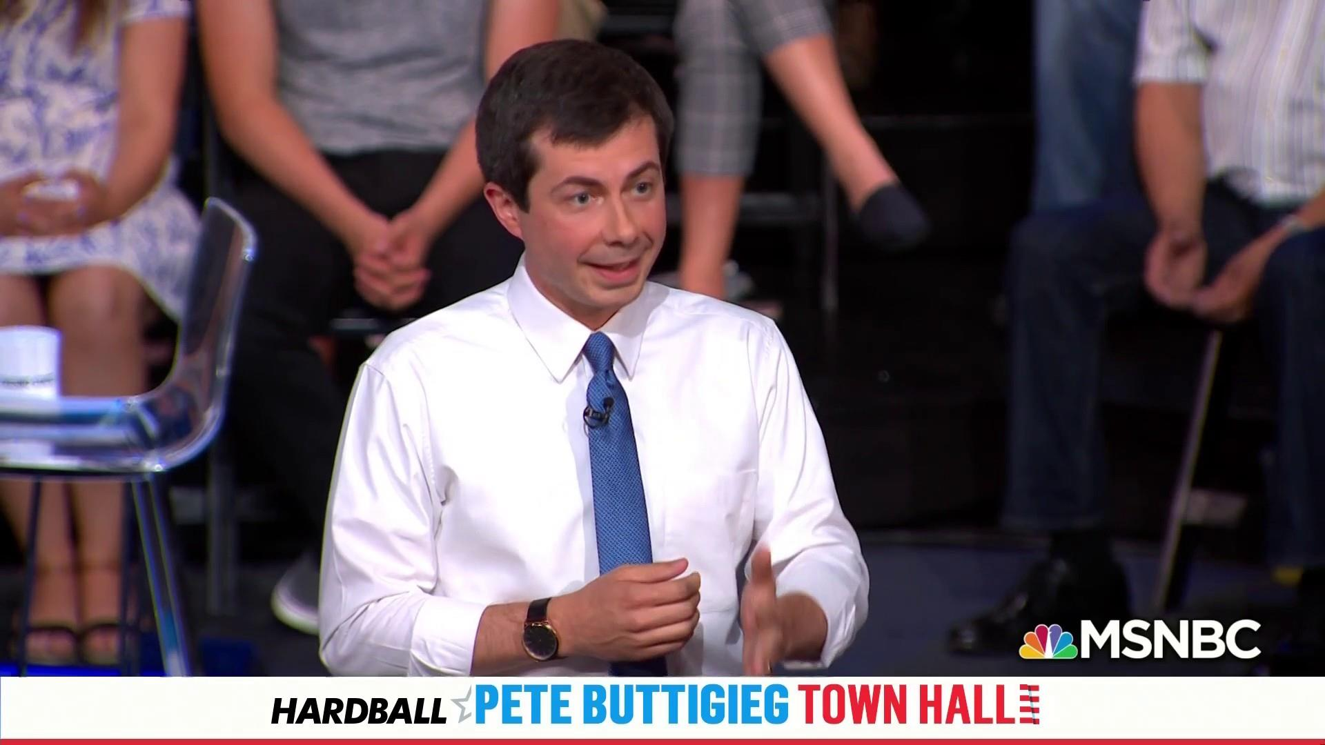 Mayor Pete says it's okay if you're not with him. He's still for you.