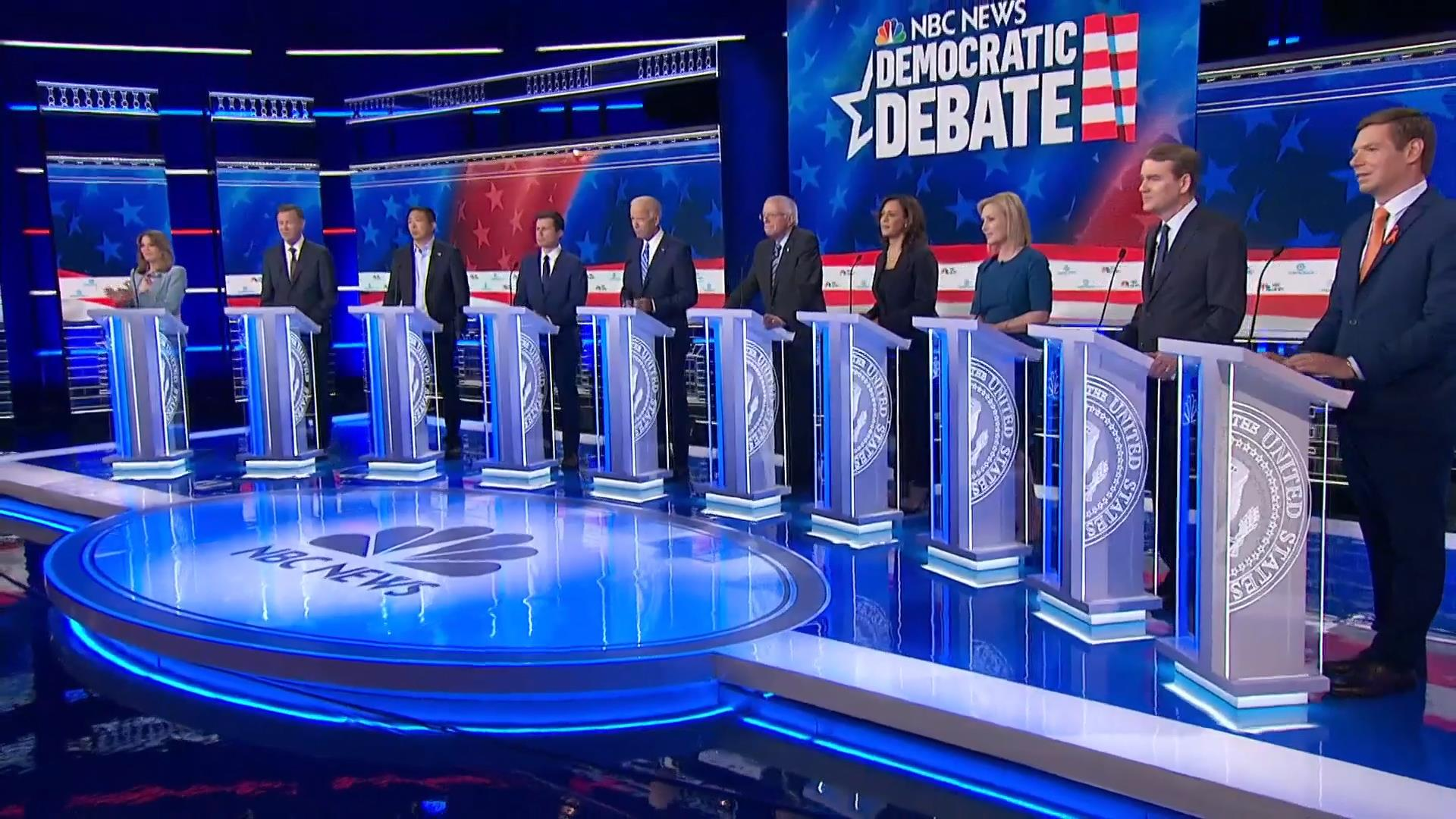 Flipboard Dem Candidates Get Personal When Discussing