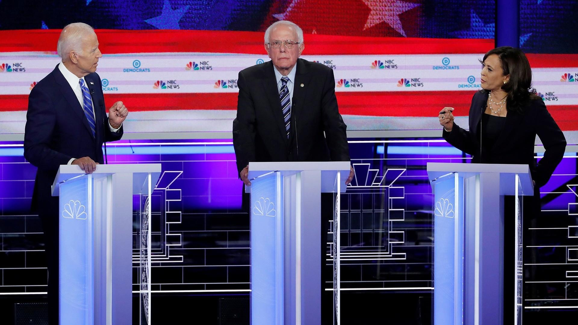 Report Feeds Debate Over Racial >> First Democratic Debate 2019 Live Updates From Night Two