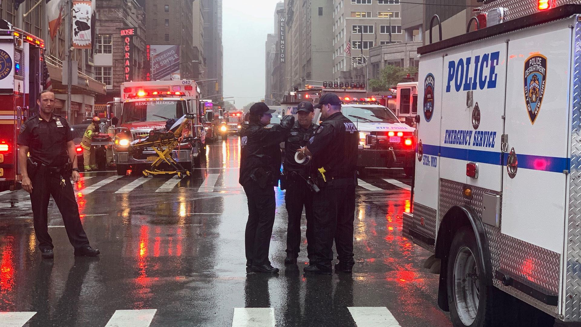 NYC helicopter crash rare for city with heavy air traffic