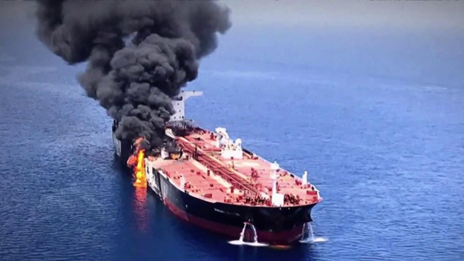 Pompeo blames Iran for attacks on tankers, says 'we don't want war'