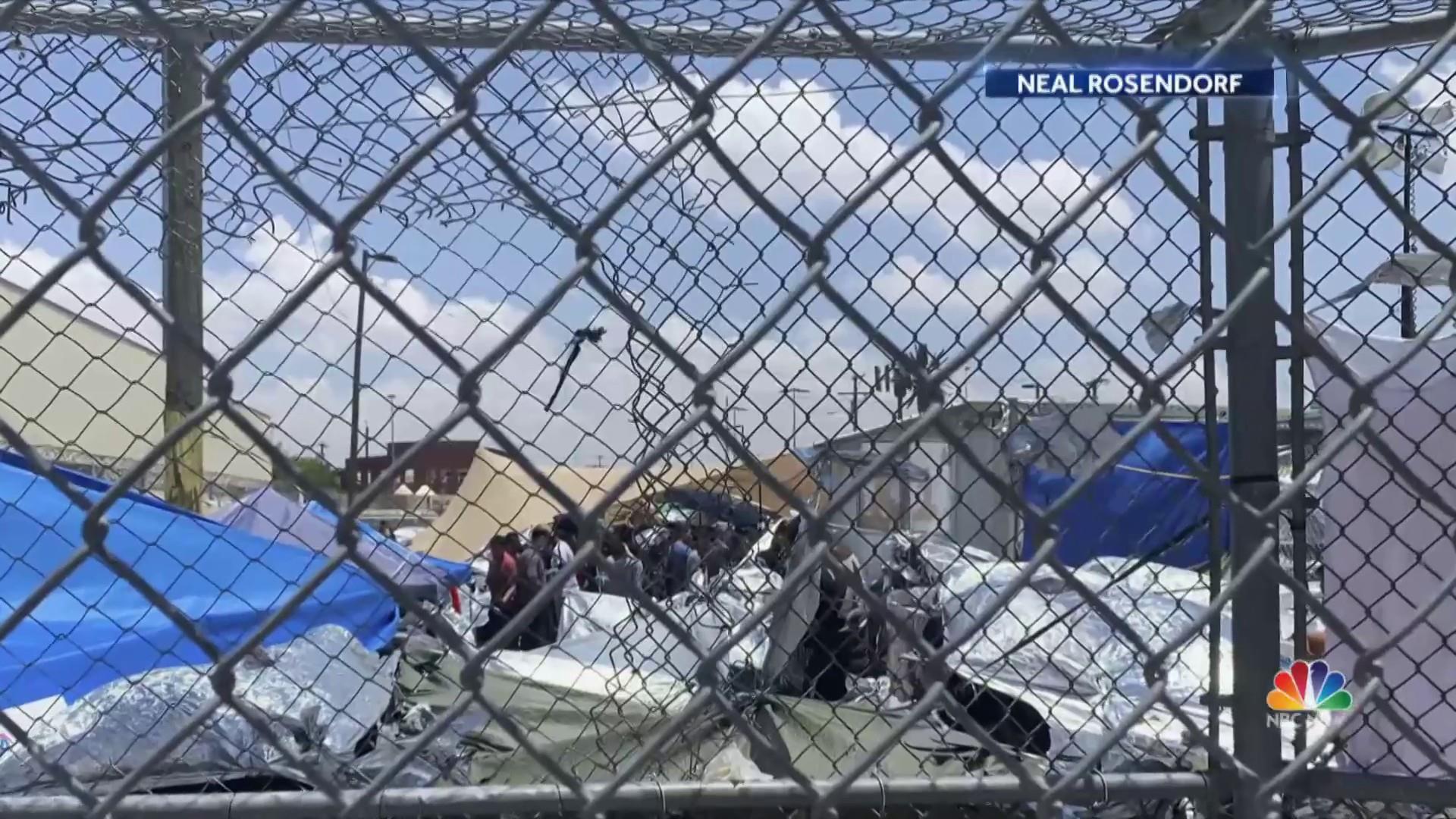 100 migrant children returned to troubled detention center