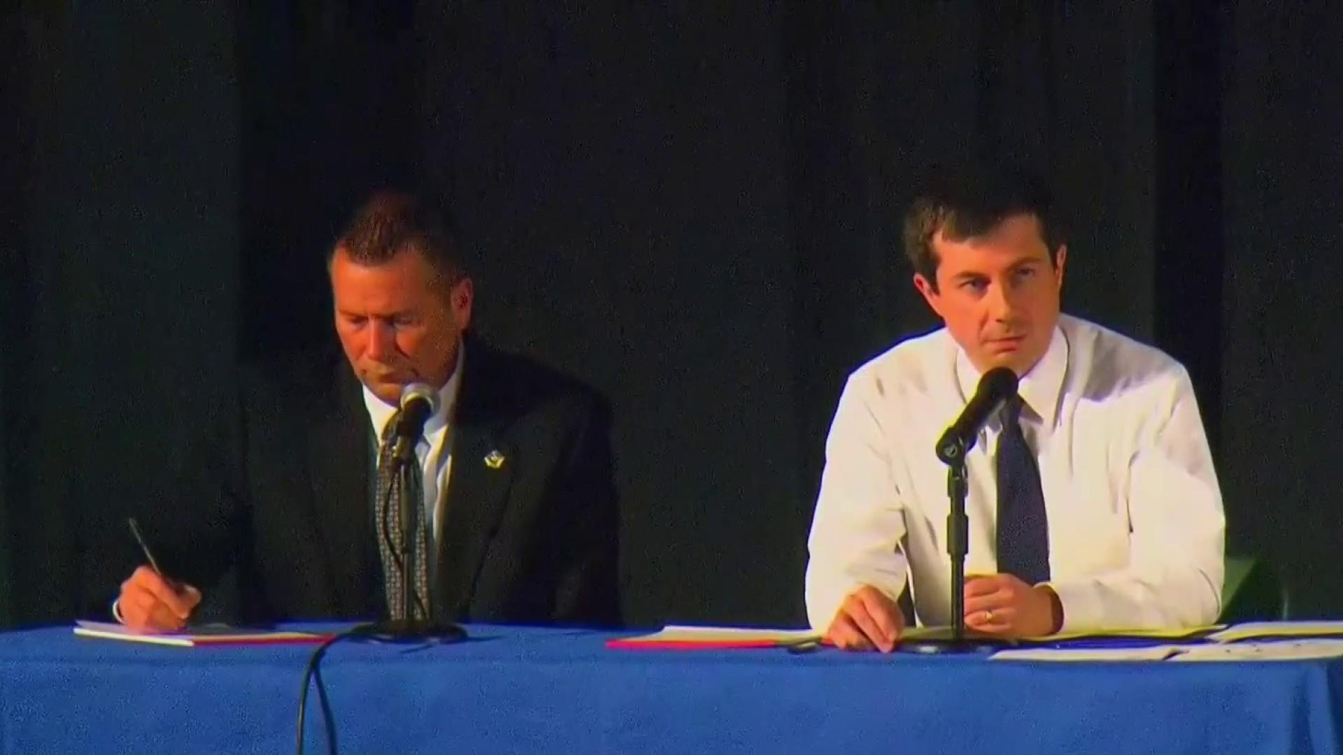 Buttigieg holds tense town hall after South Bend police shooting