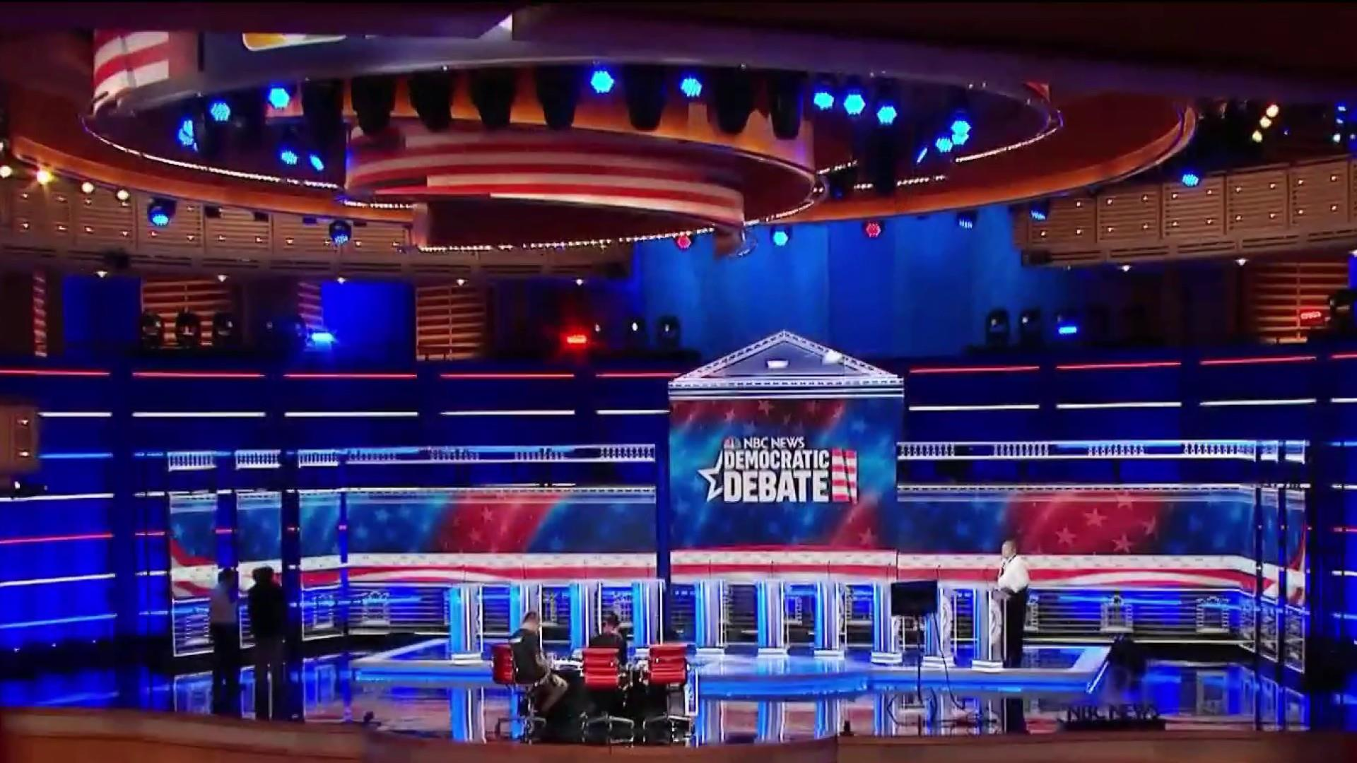 Candidates square off in first 2020 Democratic presidential debate