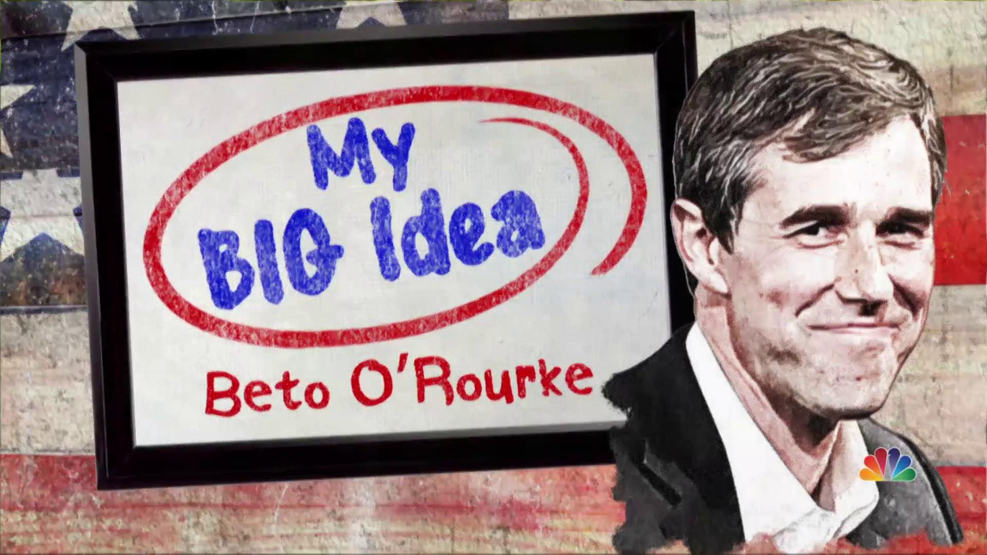 Beto O'Rourke shares his Big Idea for new voting rights act