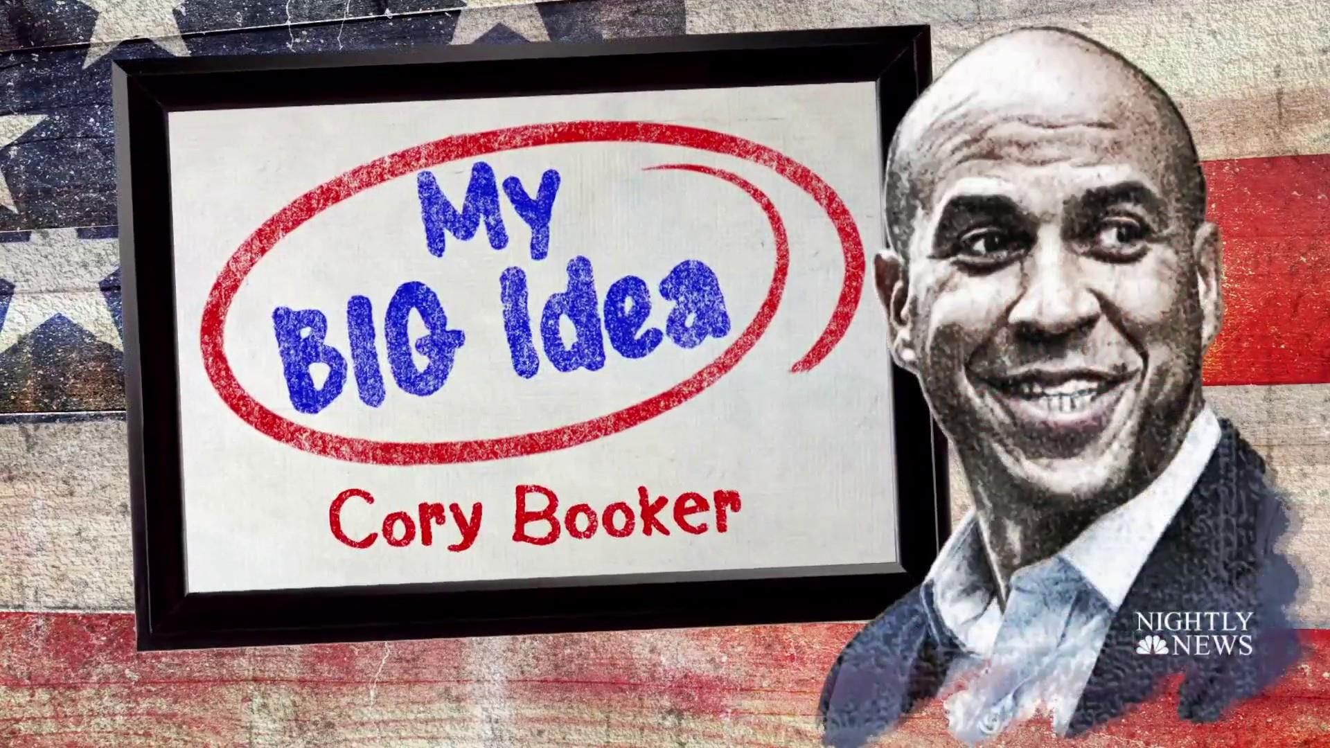 Cory Booker shares his Big Idea for 'baby bonds'