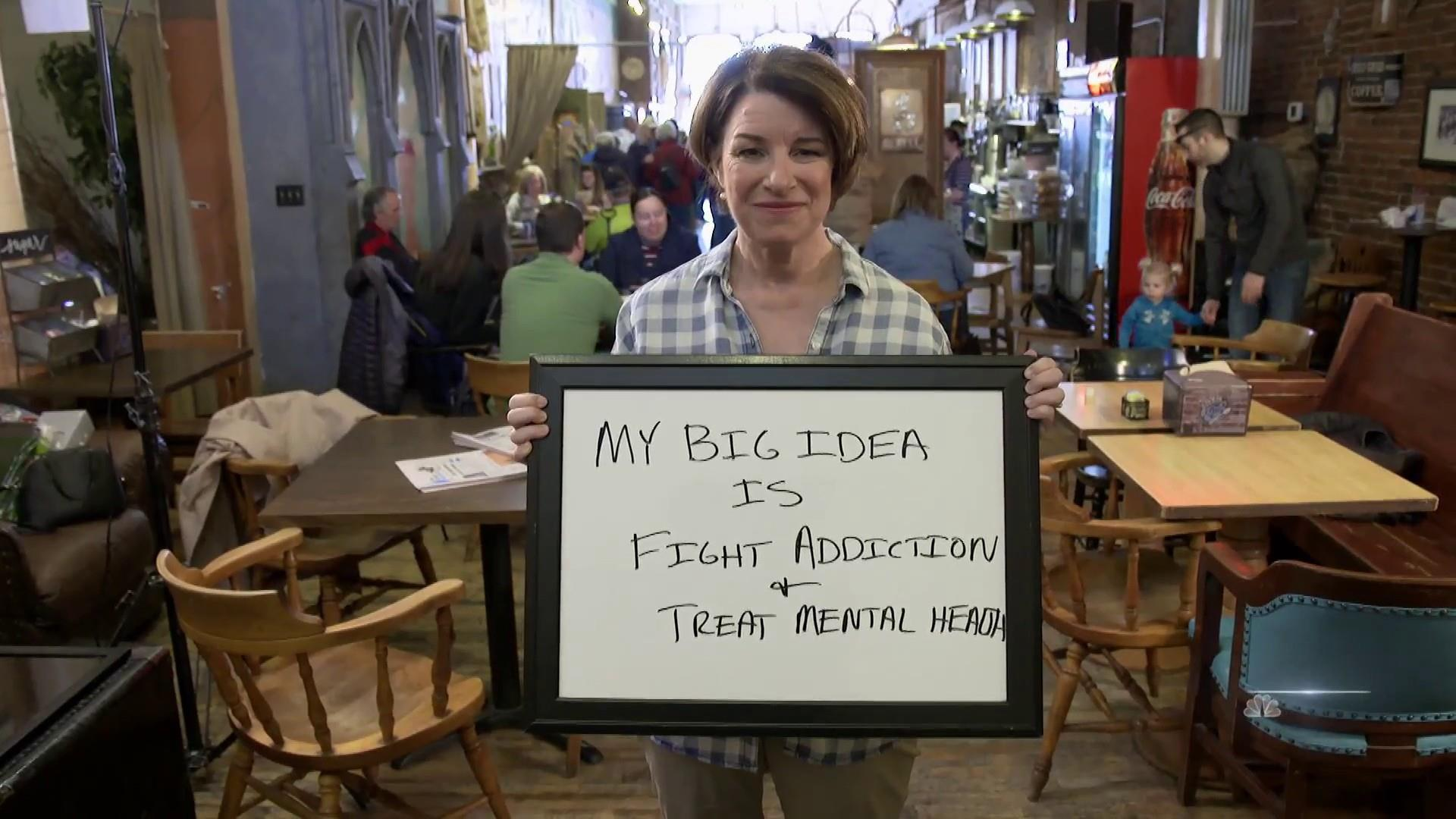Amy Klobuchar shares her 'big idea' for improving mental health care and addiction treatment