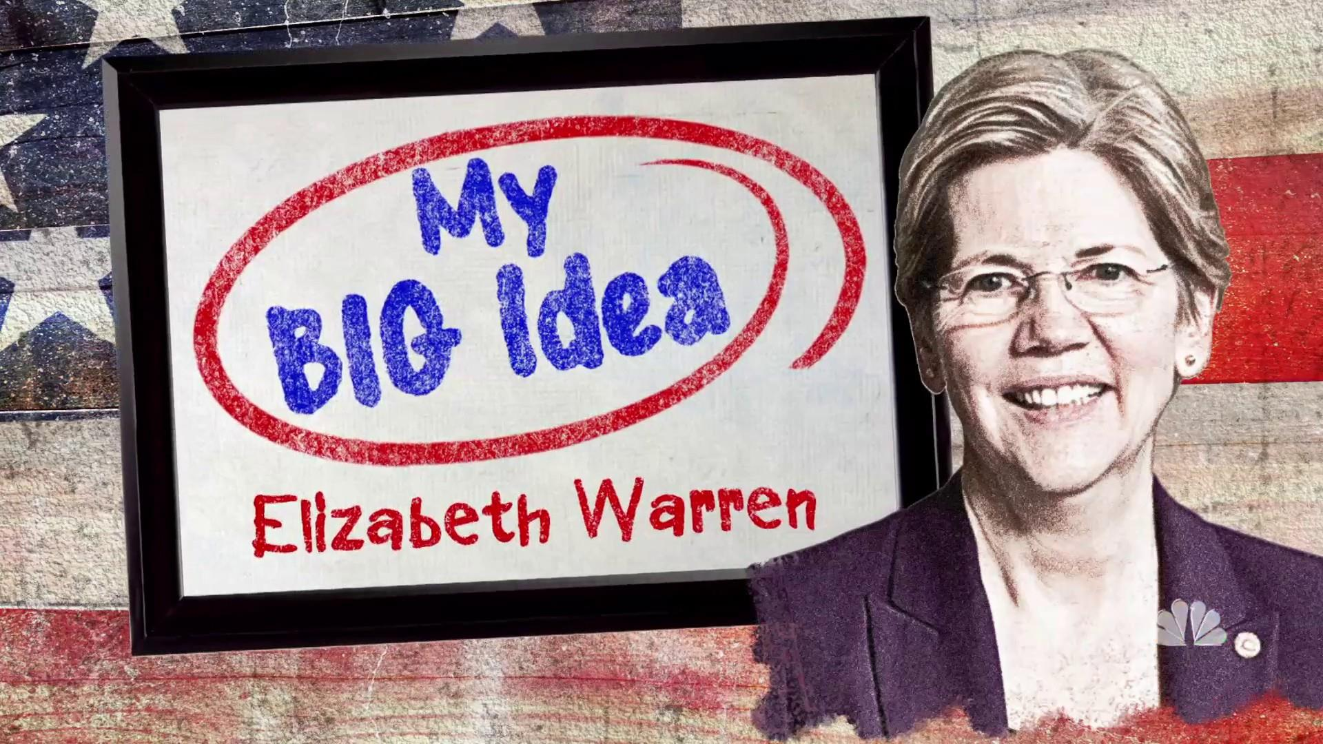 Elizabeth Warren shares her Big Idea for America's college students
