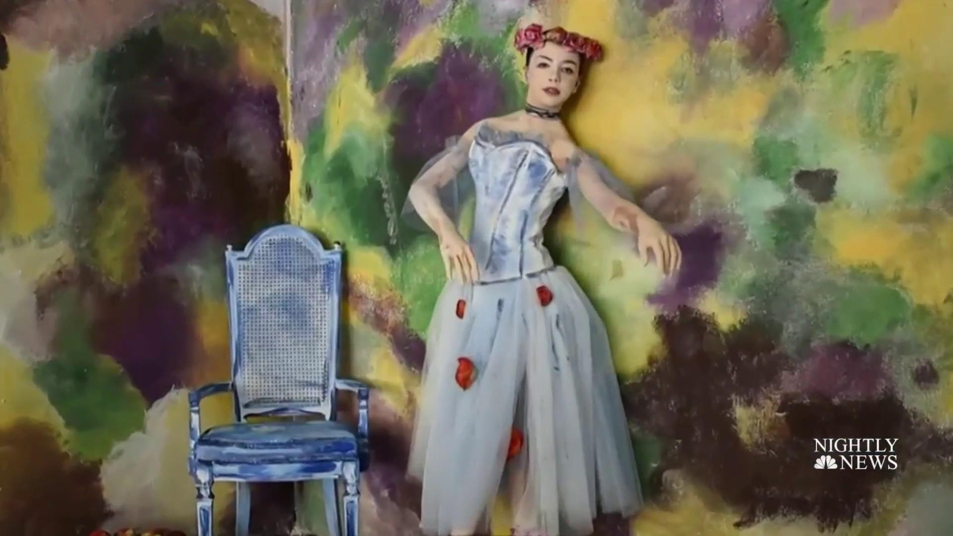 Meet the young artist whose paintings live and breathe