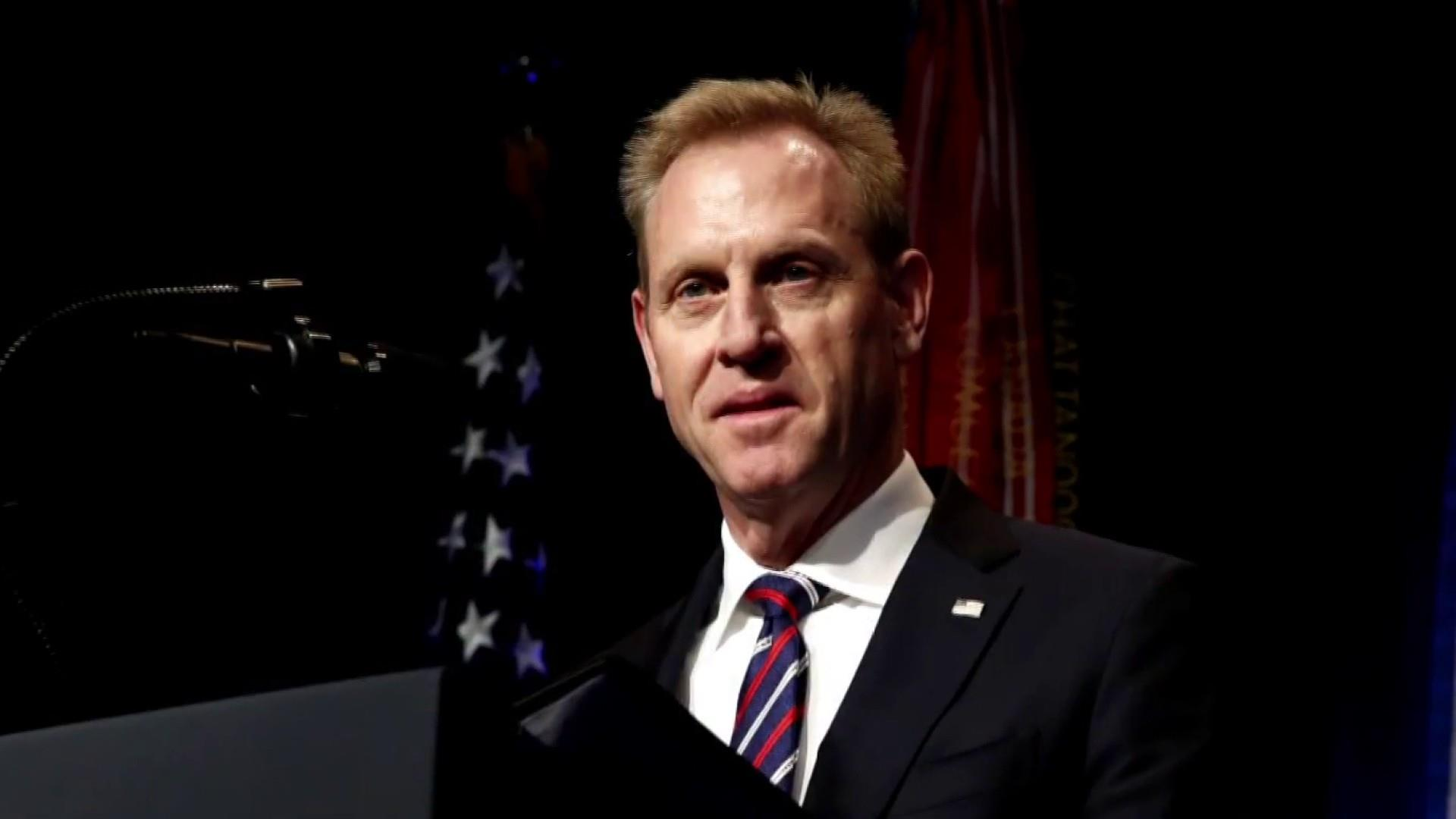 Trump speaks out about the sudden departure of Acting Defense Sec. Patrick Shanahan