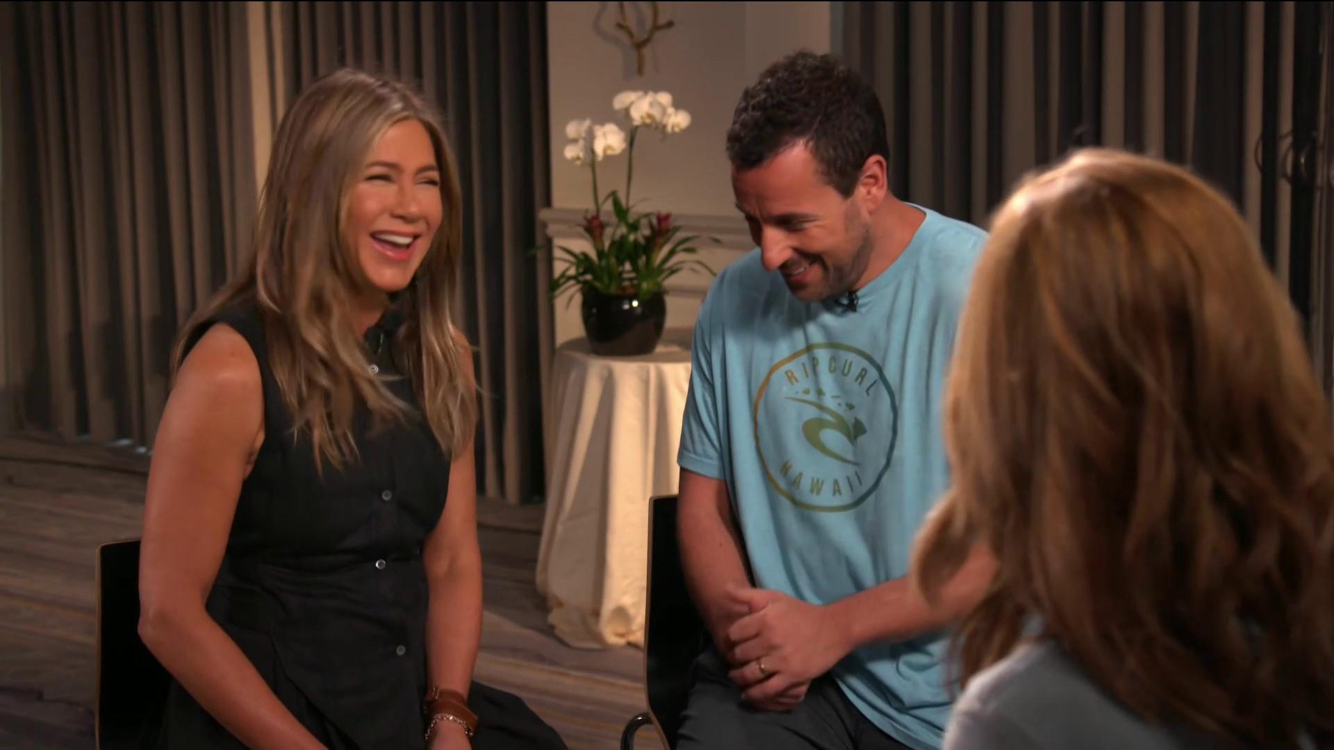 Jennifer Aniston and Adam Sandler detail their 30-year friendship
