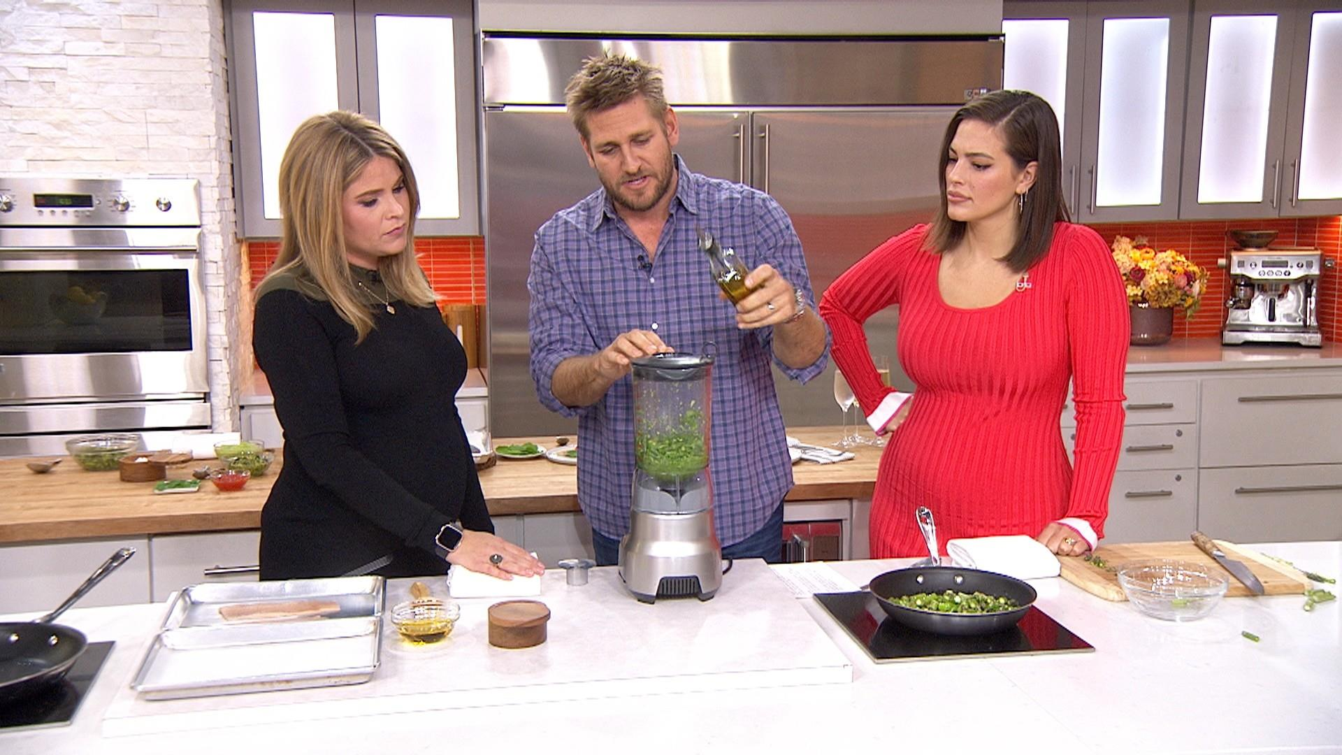 Make Curtis Stone's lemony trout and asparagus