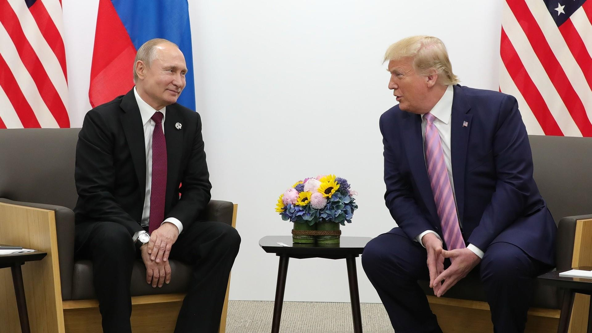 Trump to Putin: 'Don't meddle in the election'