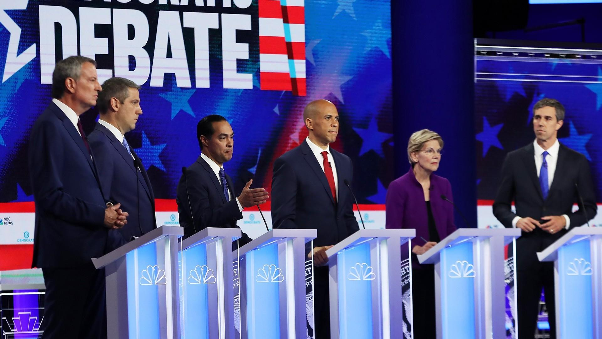 Chuck Todd: During 1st debate, Democrats leaned farther left 'in totality'