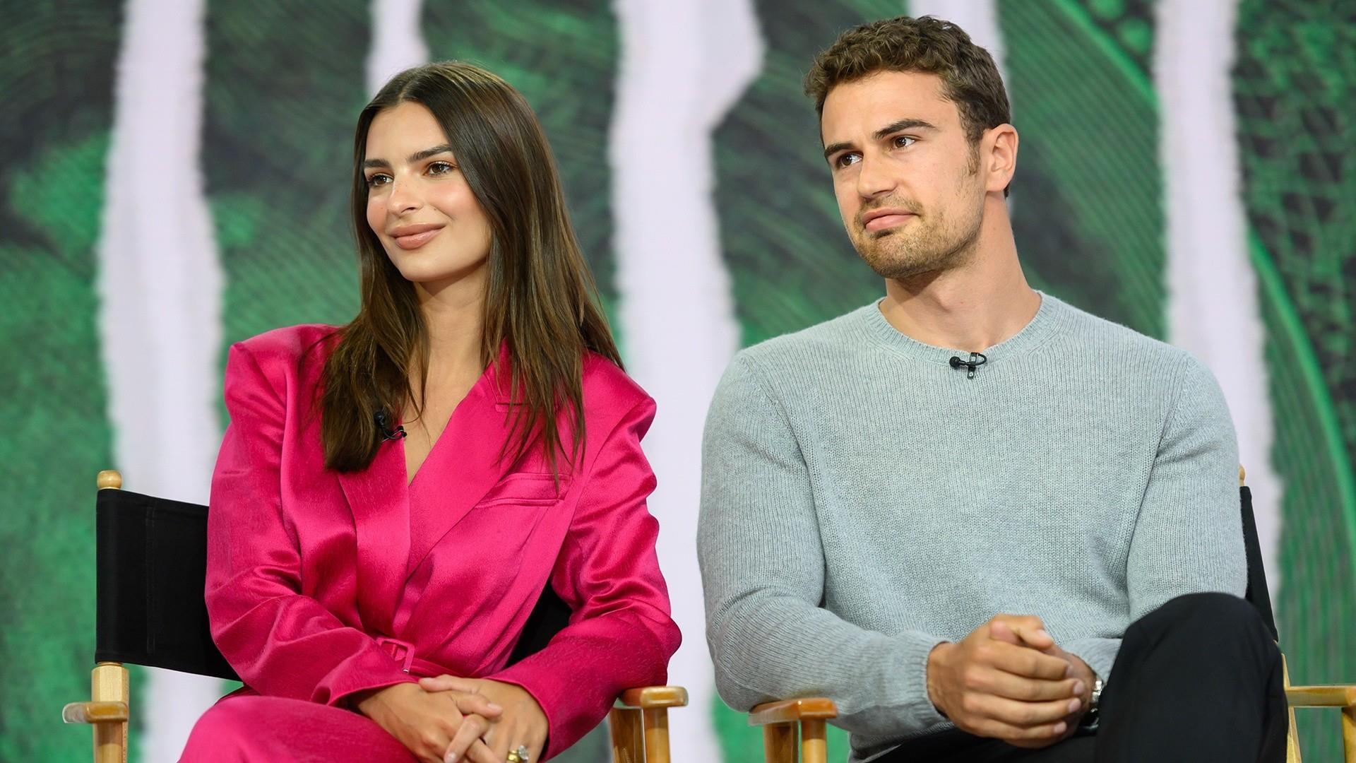 Emily Ratajkowski, Theo James get criminal in 'Lying and Stealing'