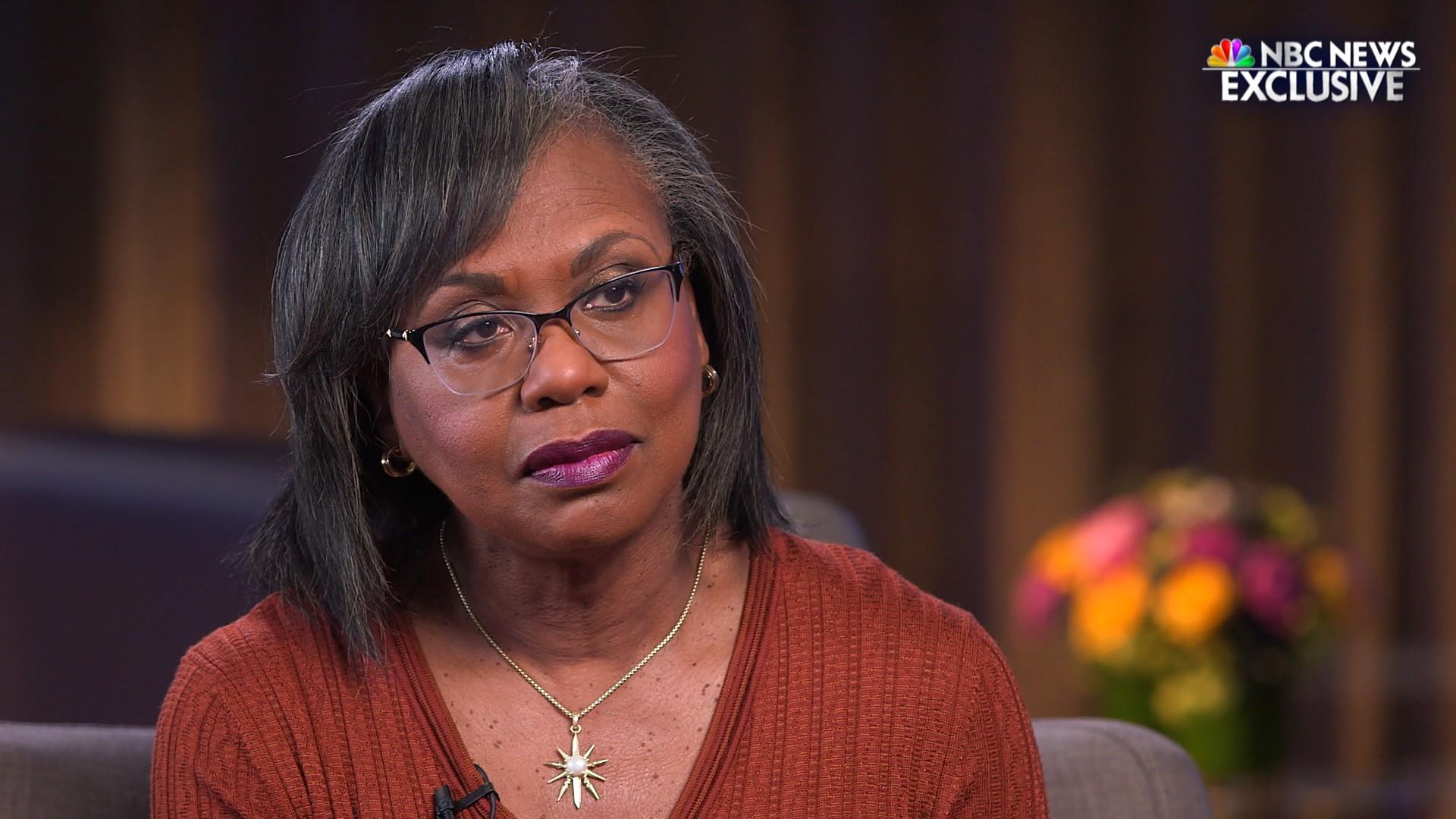Anita Hill on whether she'd vote for Biden over Trump
