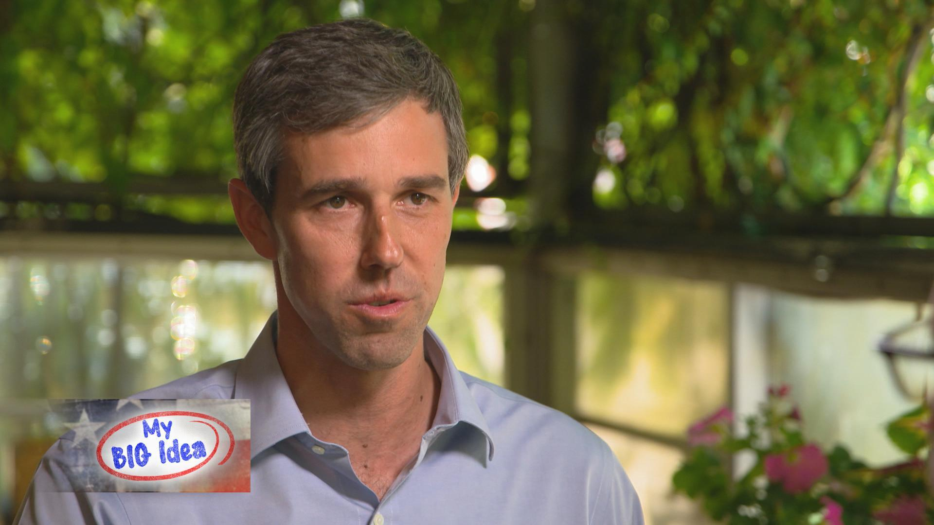 Beto O'Rourke's big idea: extended interview
