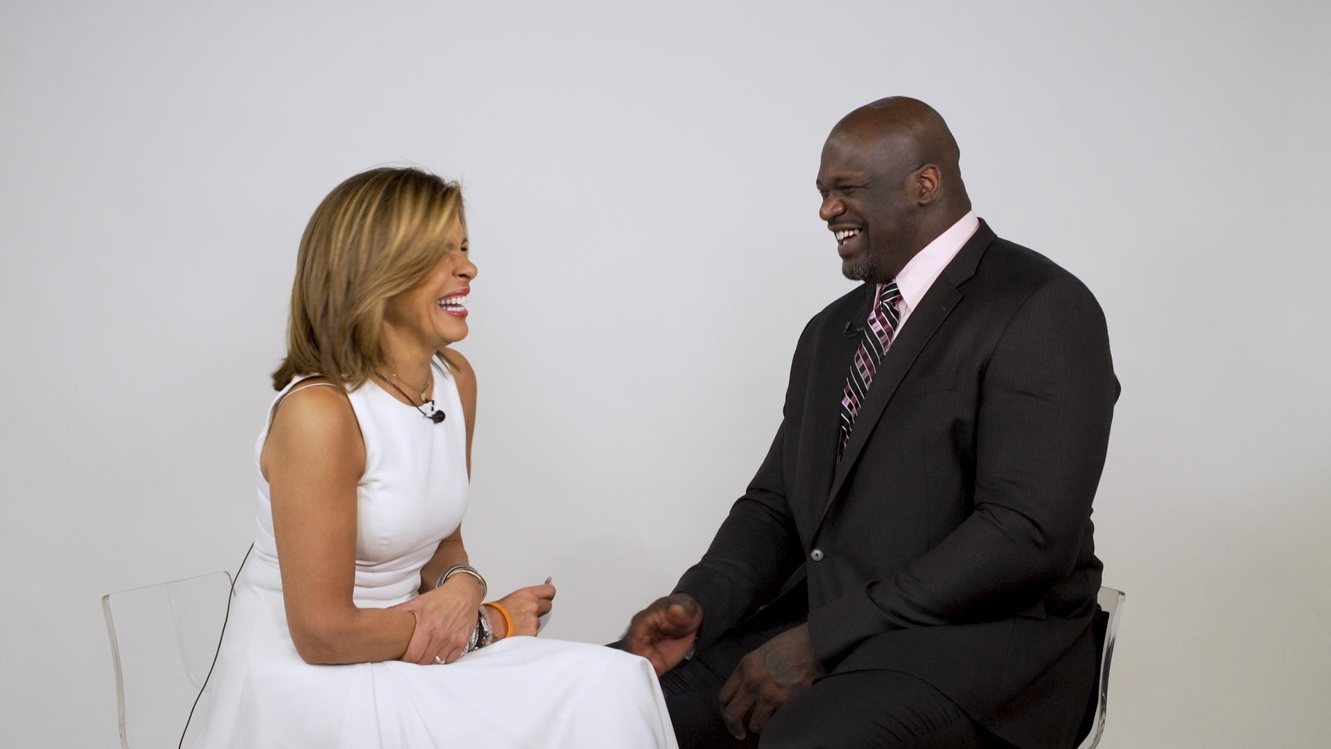 Shaq chats Twitter and Charles Barkley on 'Quoted By ... With Hoda'