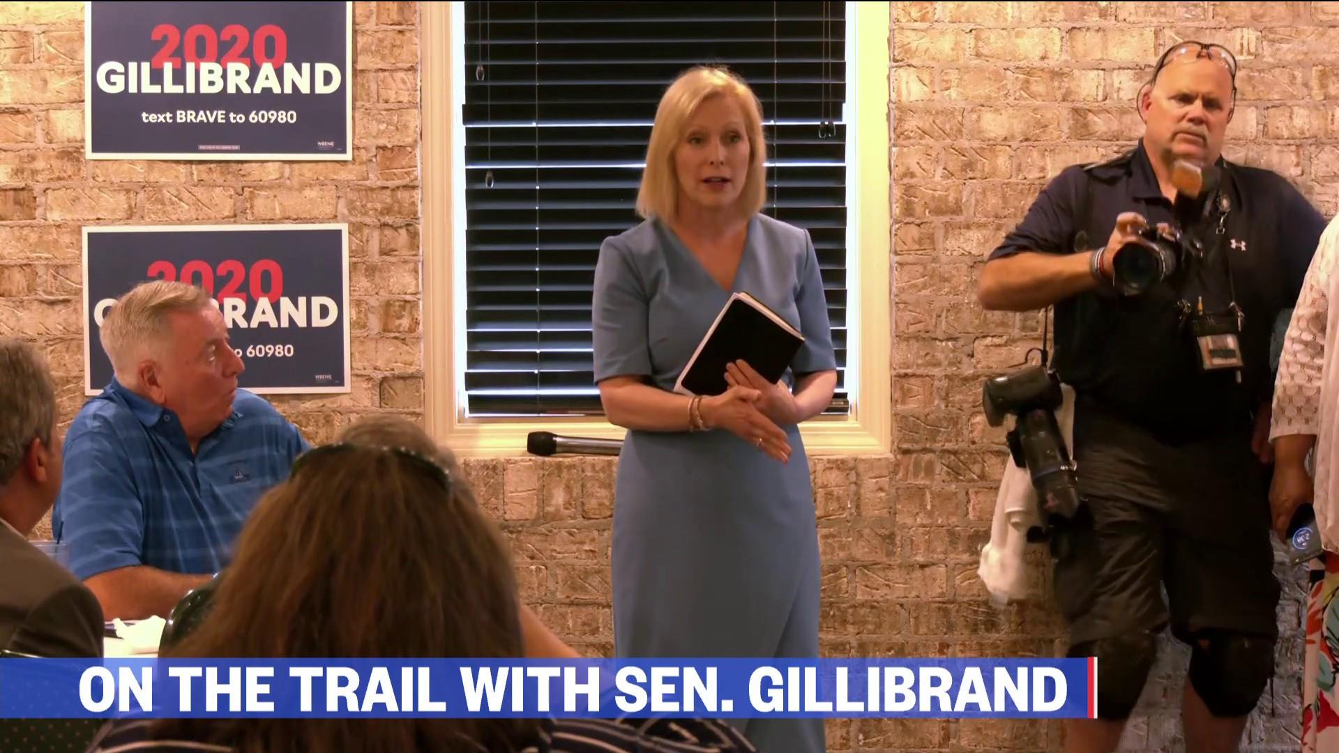 Embed Roadtrip: On the bus with Kirsten Gillibrand