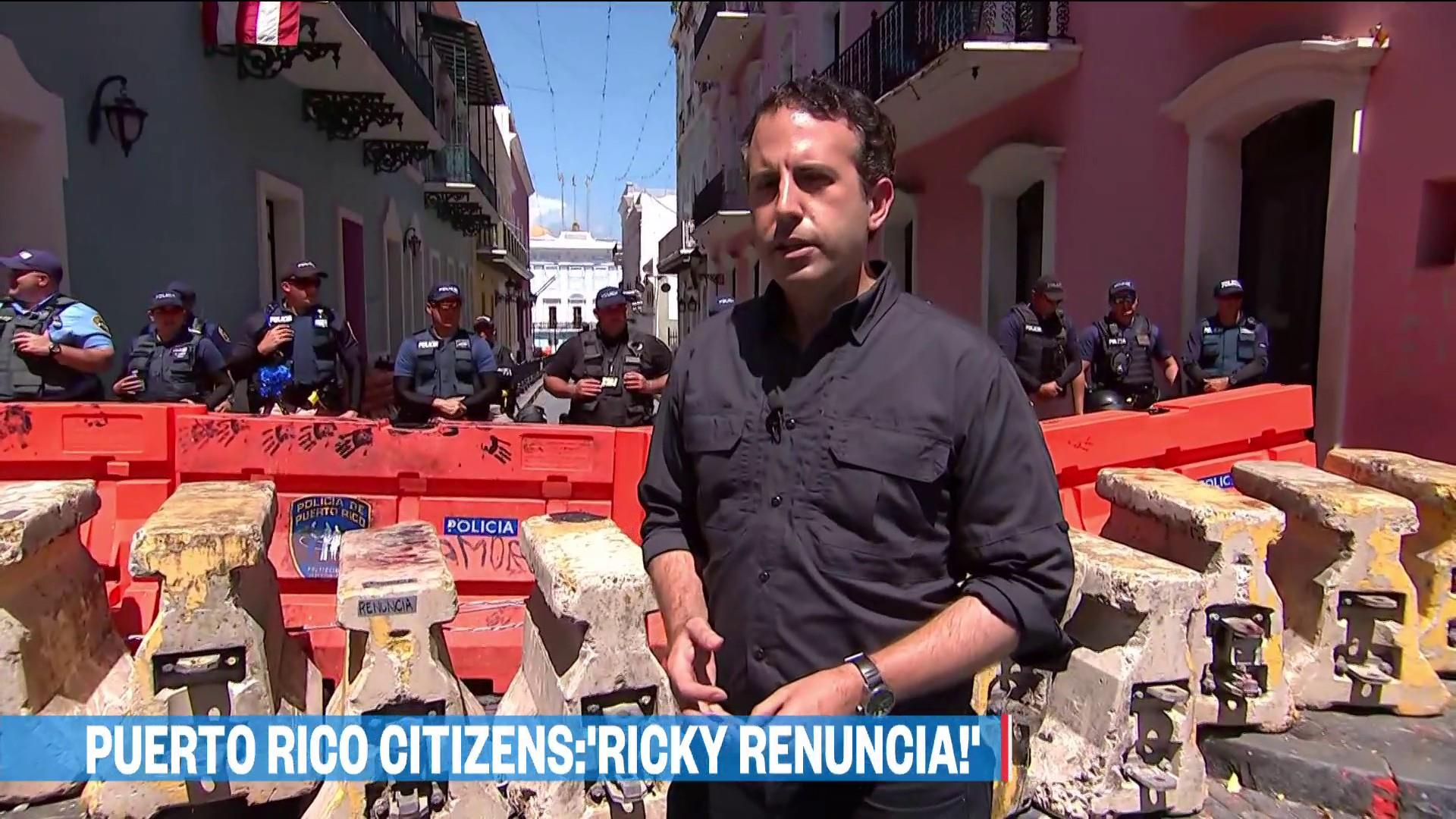 U.S. elected officials call for Puerto Rico governor to resign as protests continue