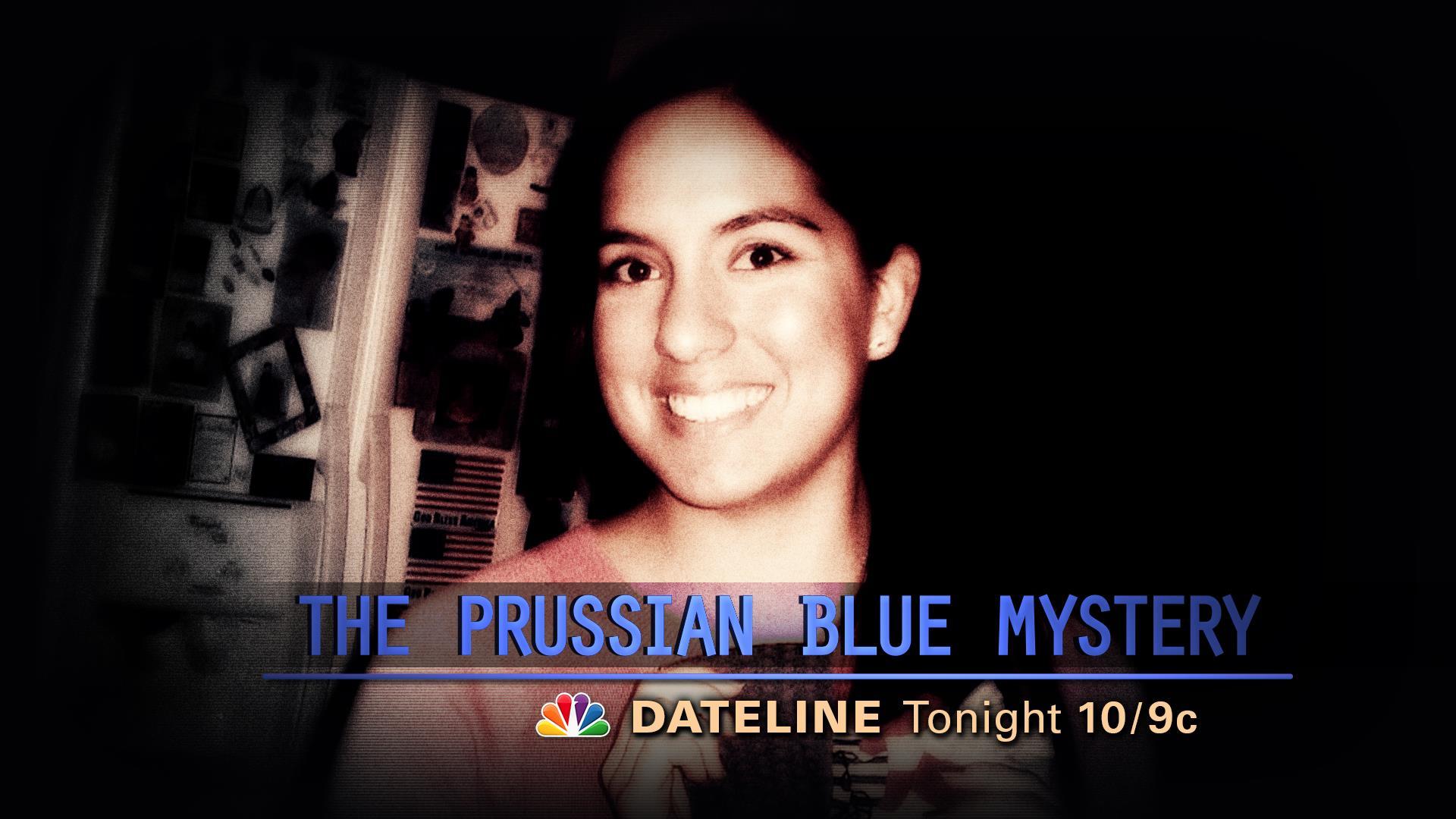 DATELINE MONDAY SNEAK PEEK: The Prussian Blue Mystery
