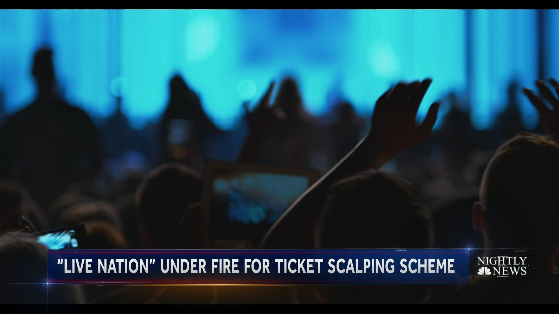 Live Nation in hot water for helping bands scalp tickets