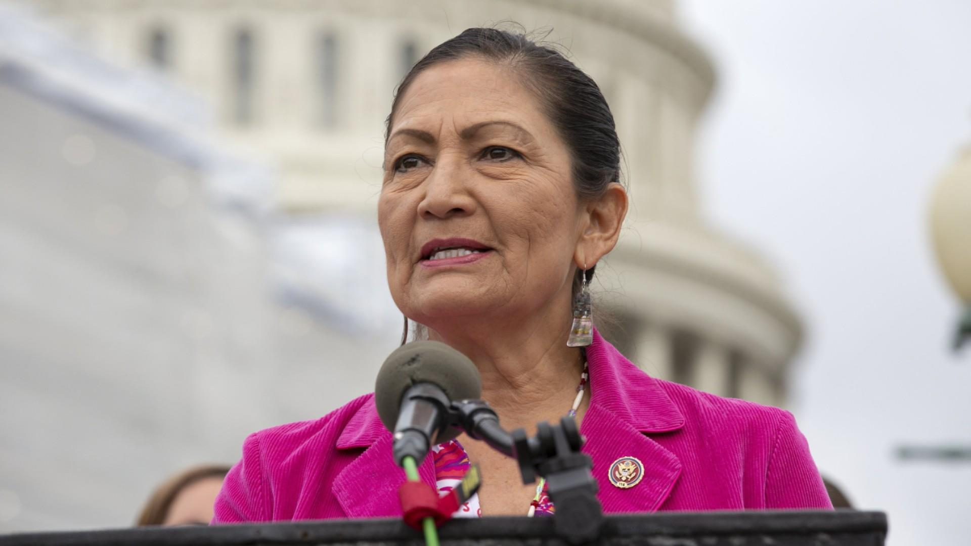 Rep. Haaland: As a Native American, I'd never tell anyone to leave this country