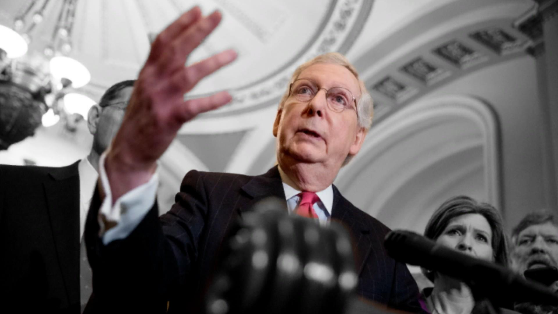 McConnell bristles at 'Moscow Mitch' after blocking election security bill