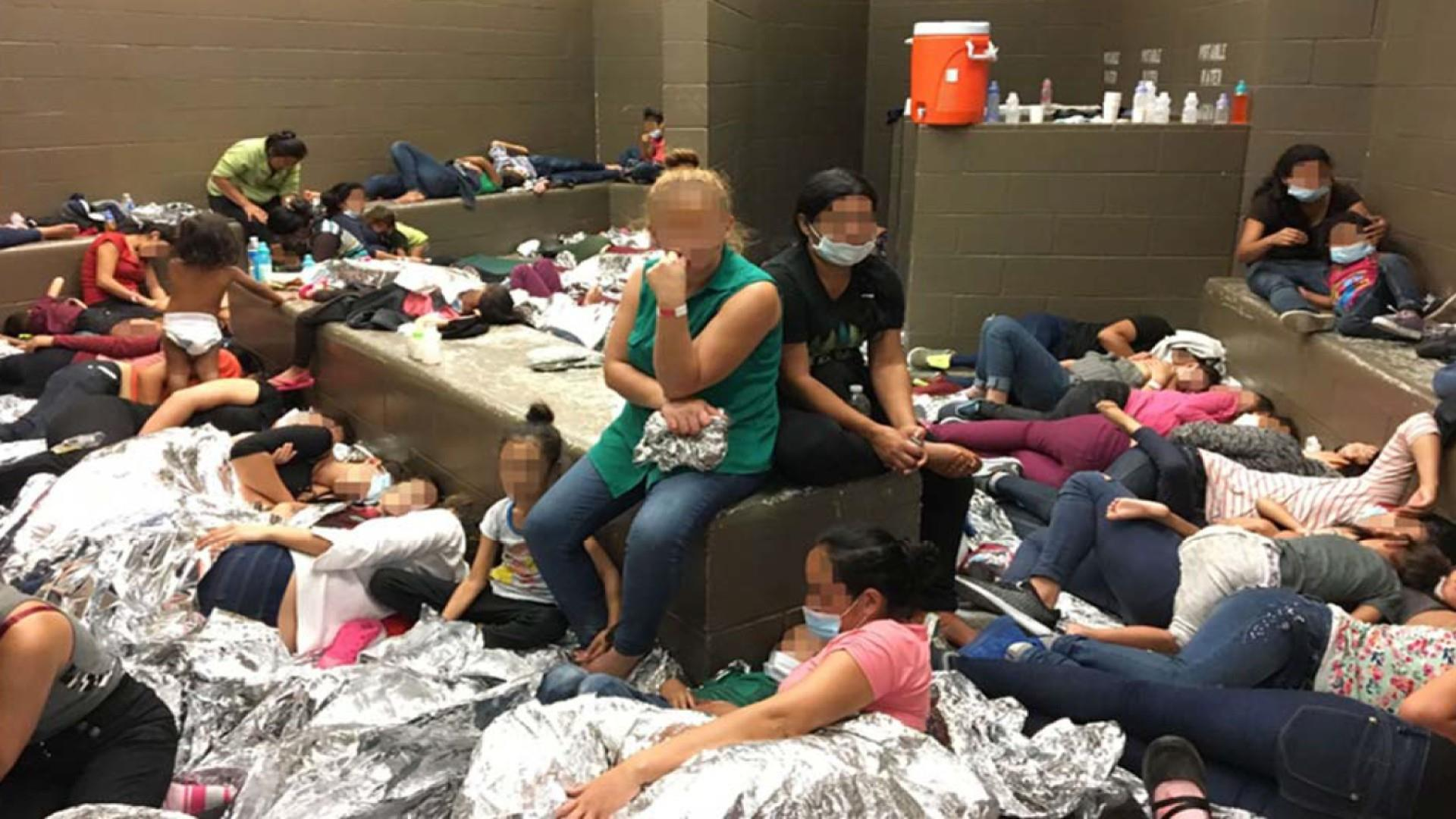 Trump plans tanks and fireworks as govt. photos show migrants in dire conditions