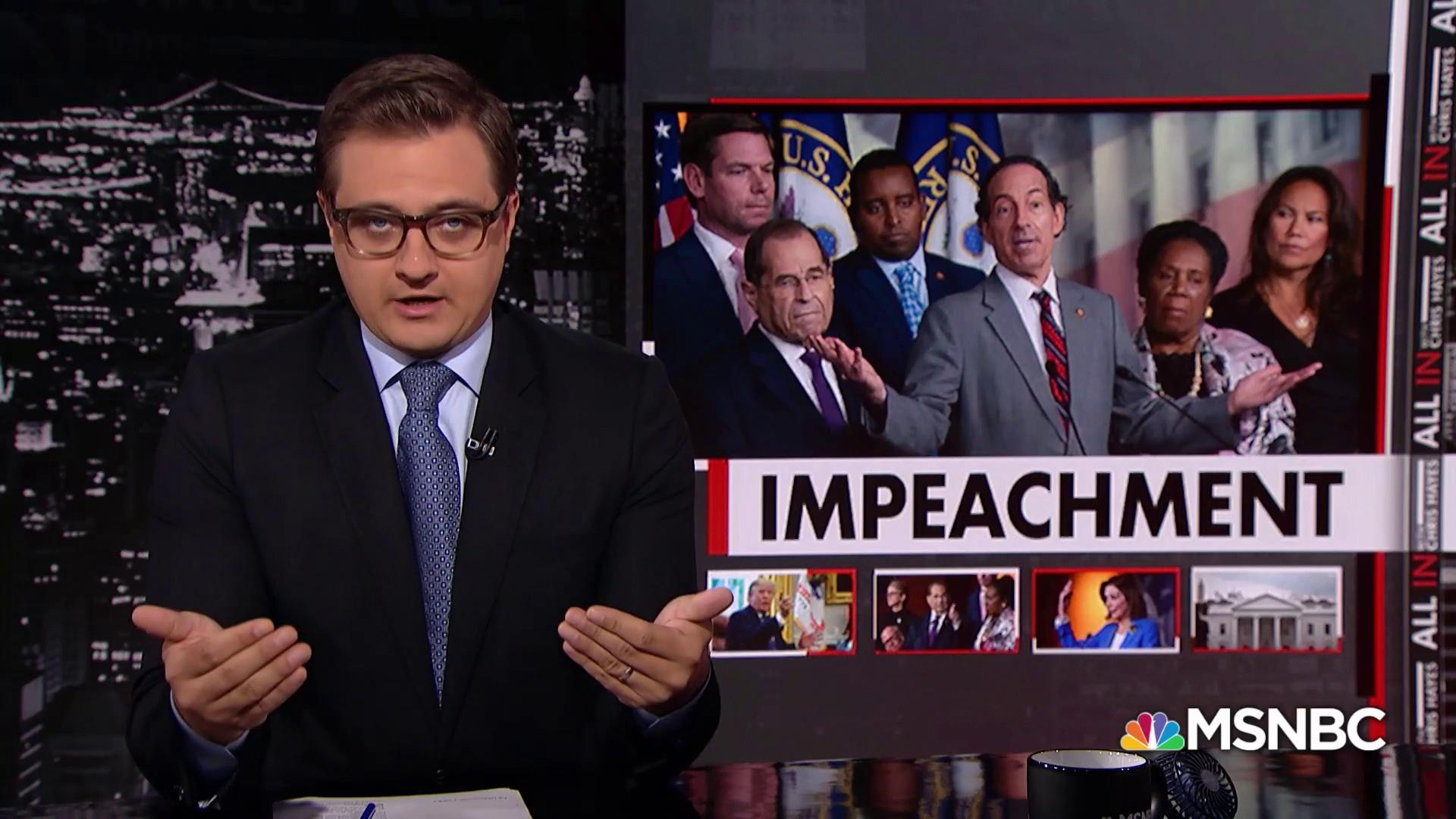 Rep. Nadler: Judiciary Committee considering articles of impeachment