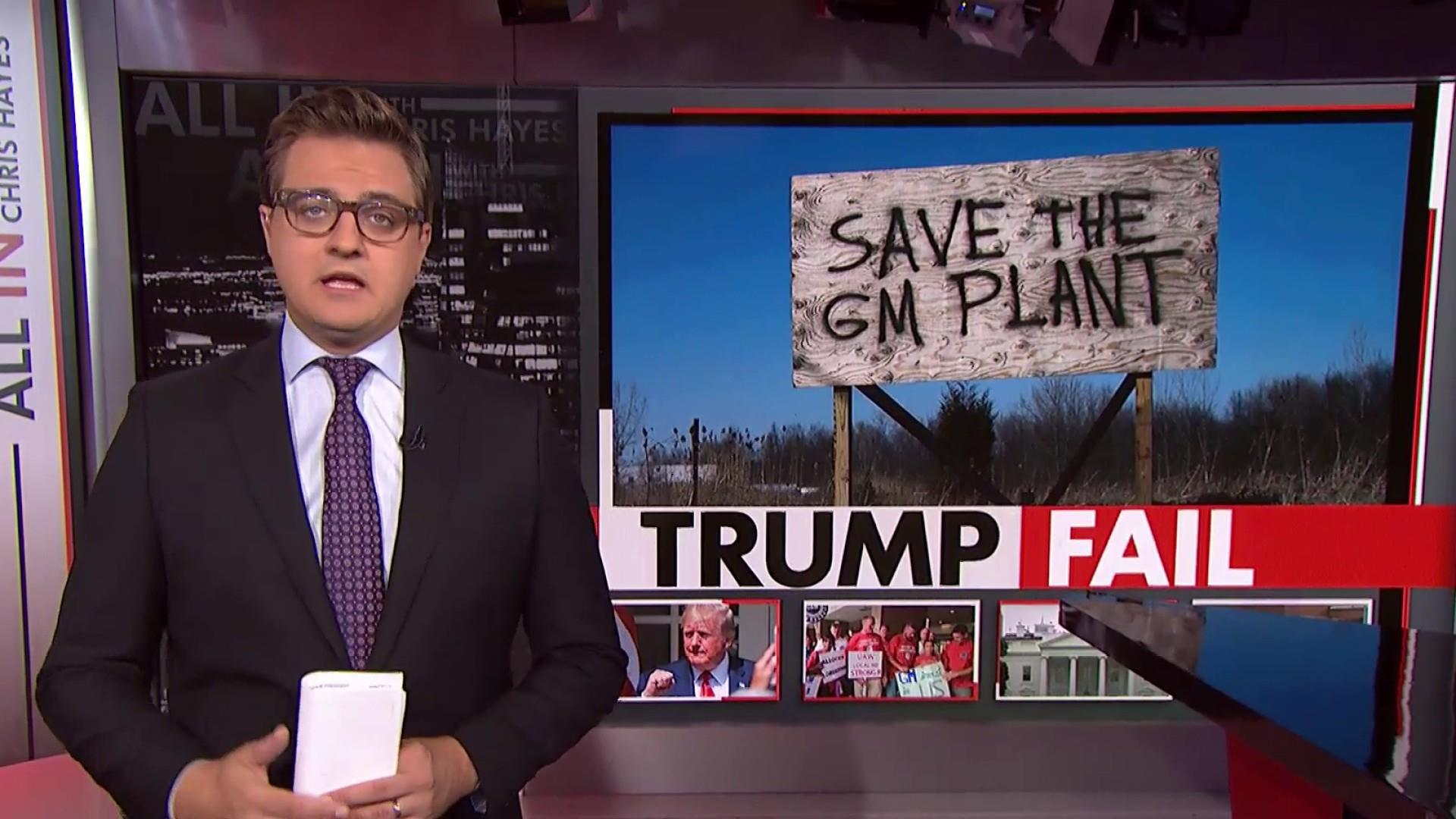 Chris Hayes: Trump is offering racism to his base instead of solutions