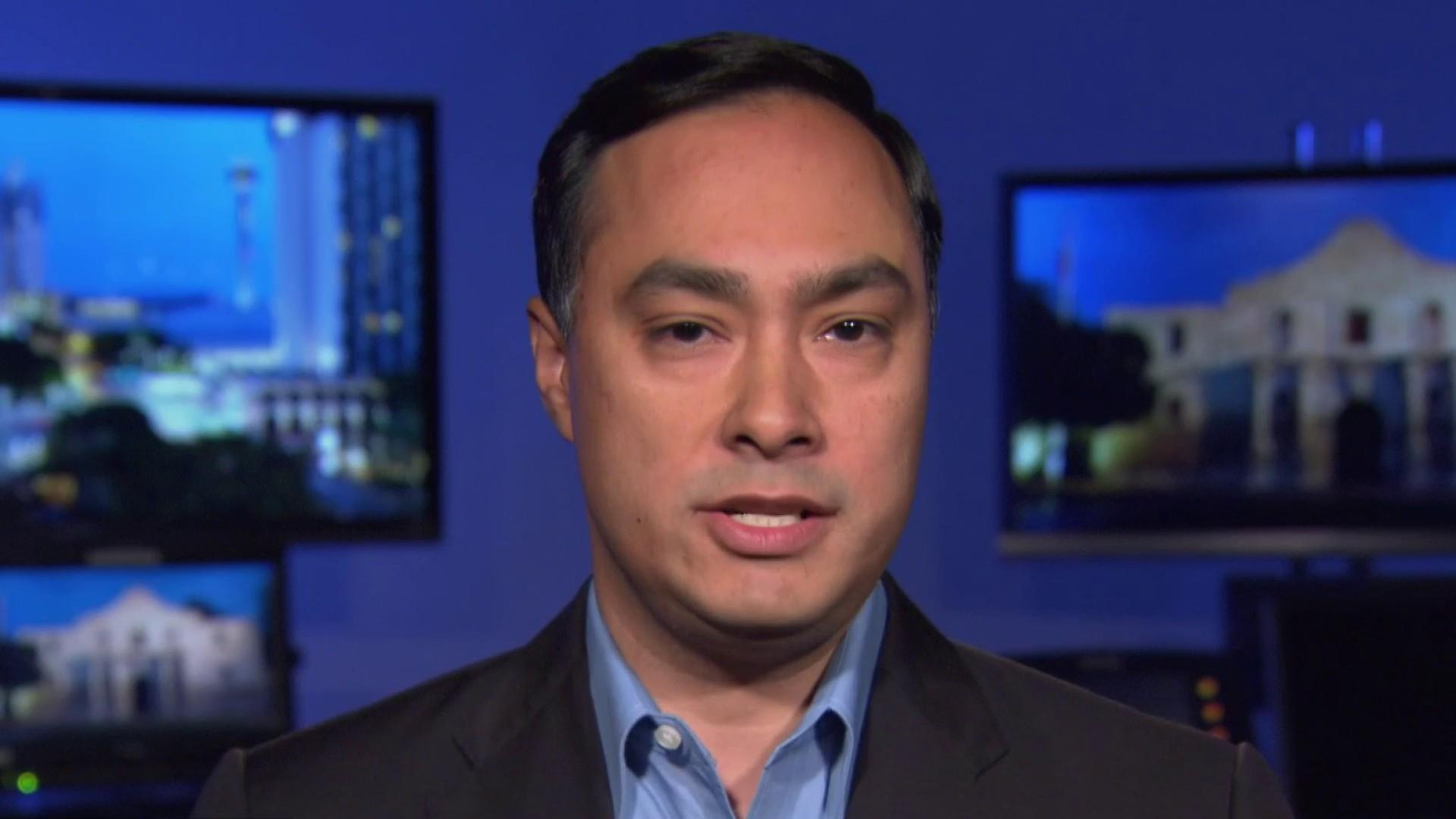 Rep. Castro: 'Human rights are being neglected.'