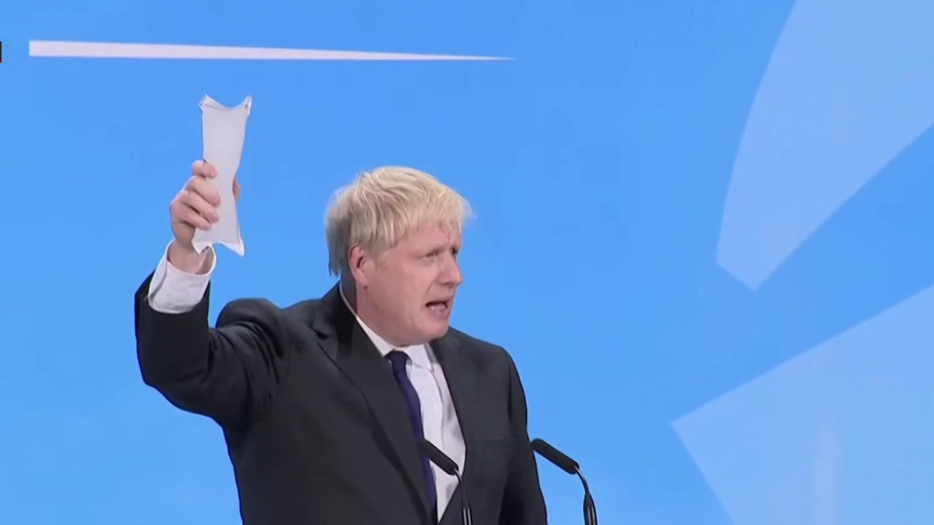 BoJo and his kipper