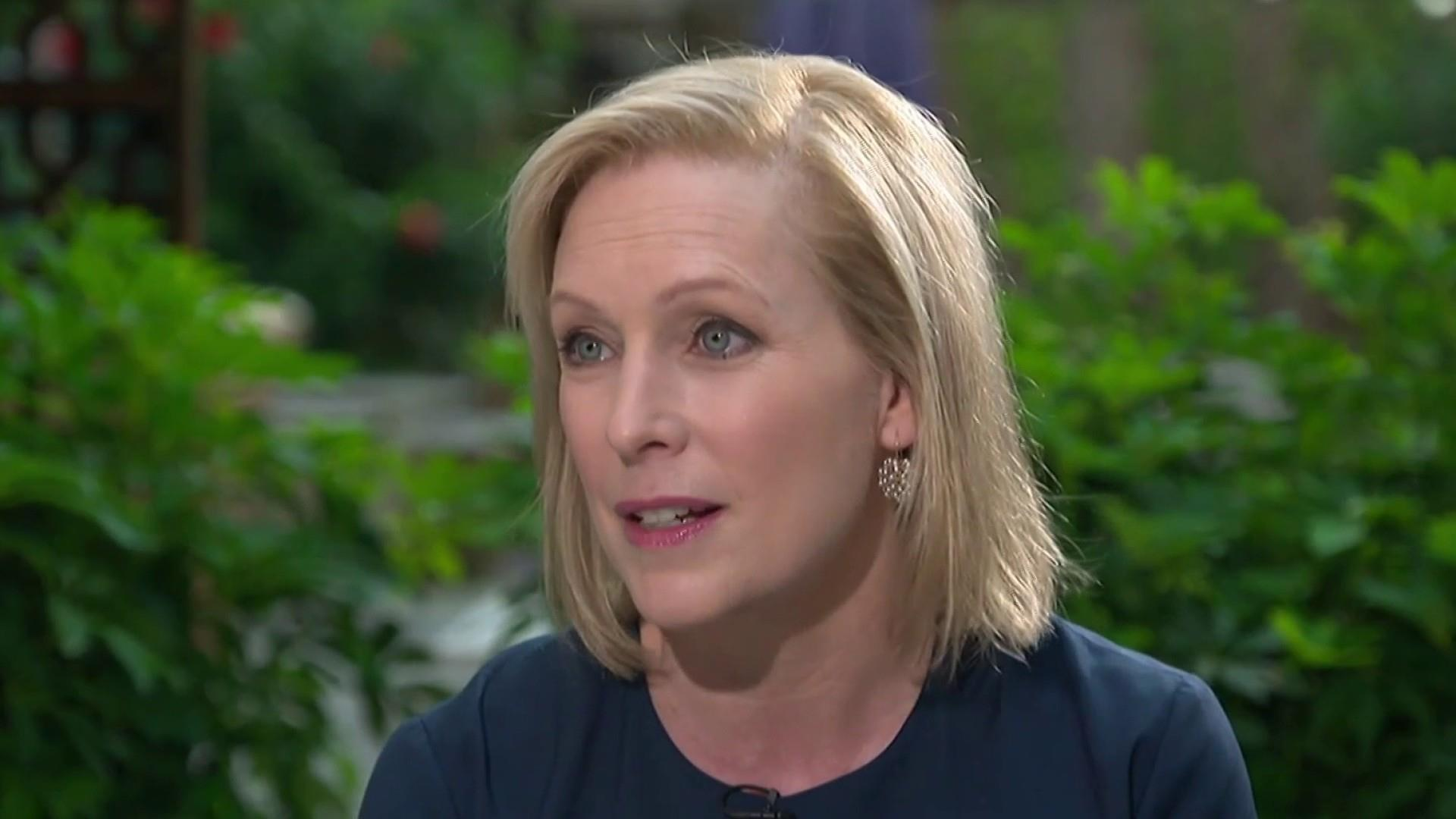 Sen. Kirsten Gillibrand tries to make dent in pack, says 'the candidates have followed me' on issues